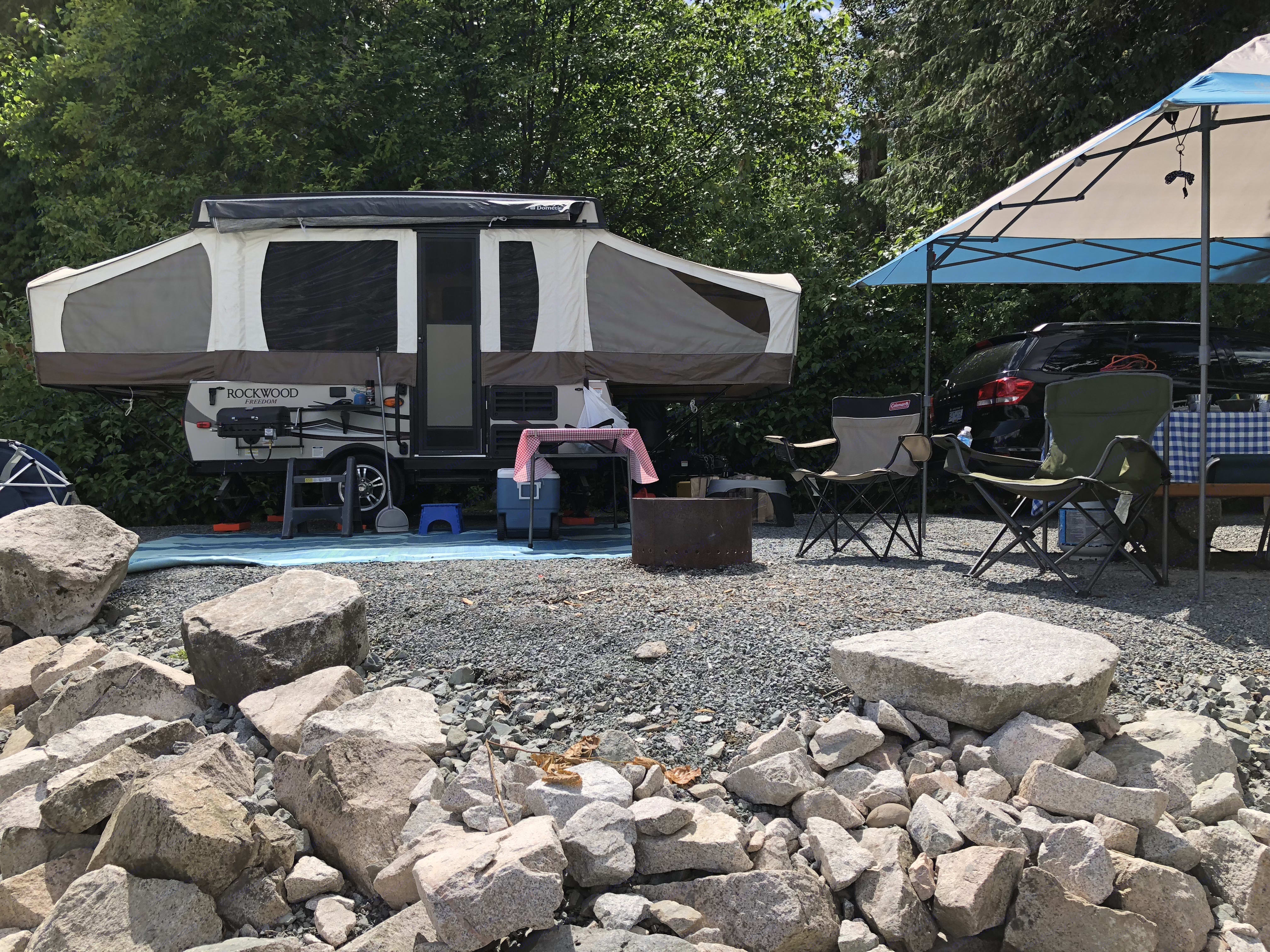 Edgewater Bar Campgrounds, Langley. Forest River Rockwood 2017