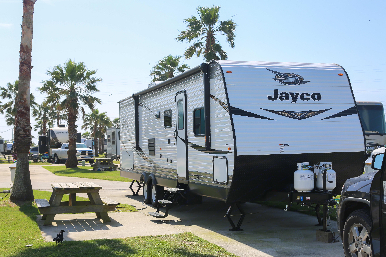 This pic was taken in Galveston!. Jayco Flight 284BHS SLX 2019