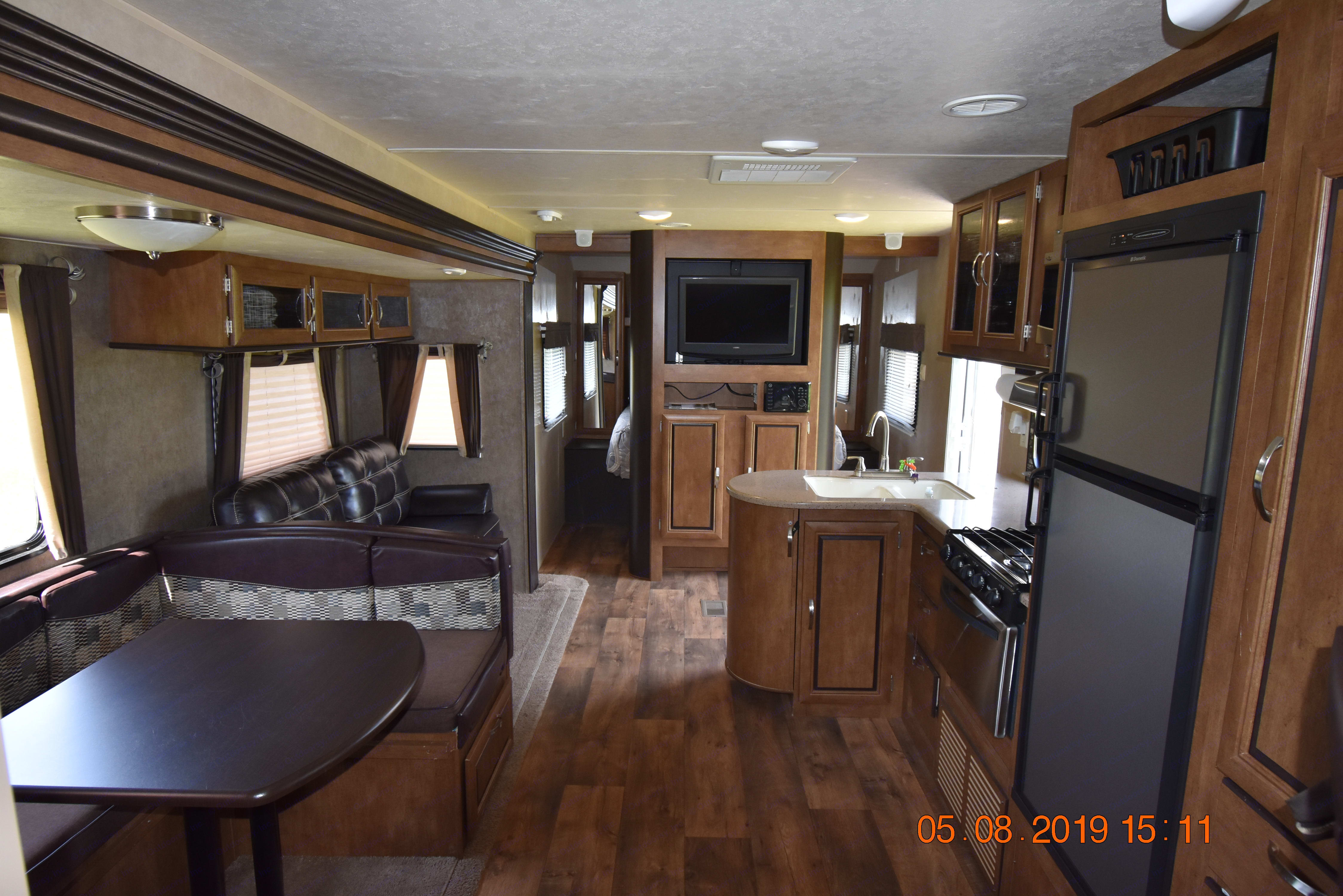 Interior Back to Front.. Forest River Wildwood 2017