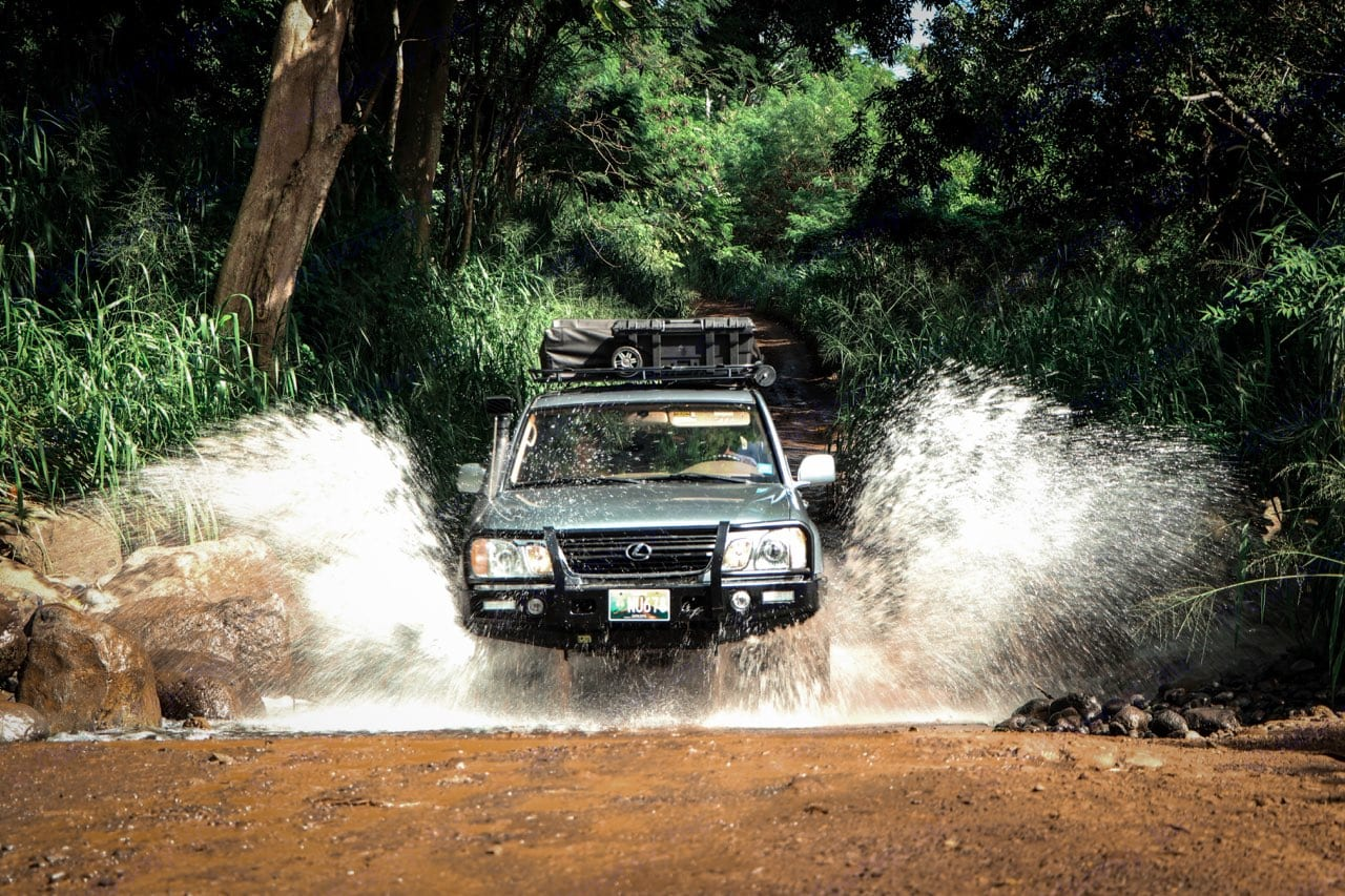 """""""The King K"""" LX 470 rig ready to explore and built for your adventure.. Lexus LX 470 2002"""