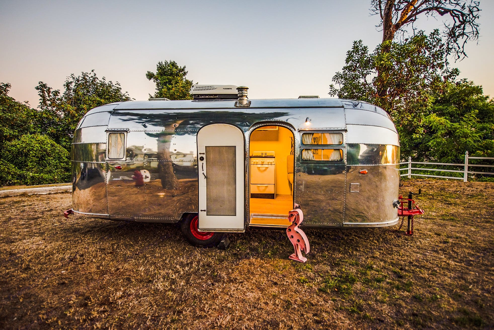 Airstream Flying Cloud 1954