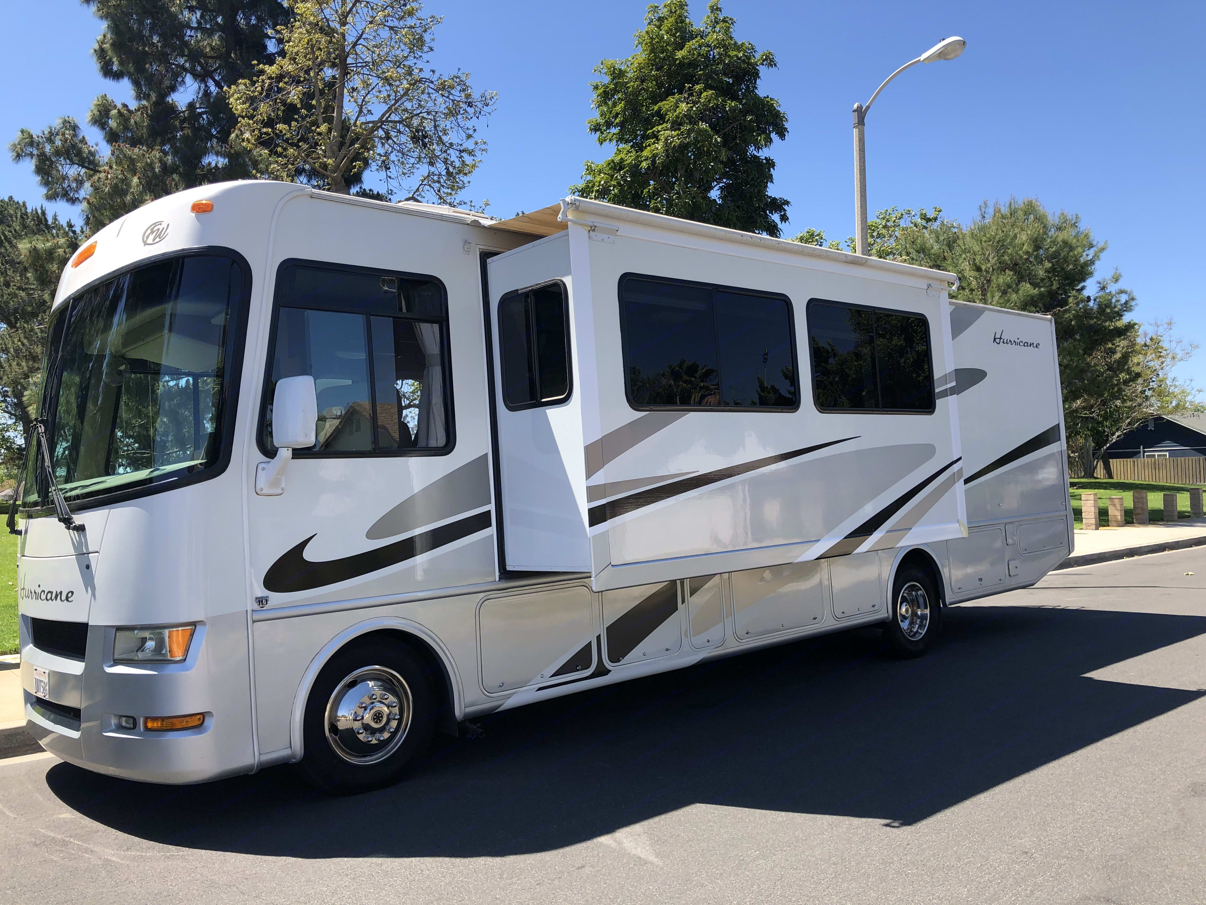 We have 2 slides. Thor Motor Coach Four Winds 2007