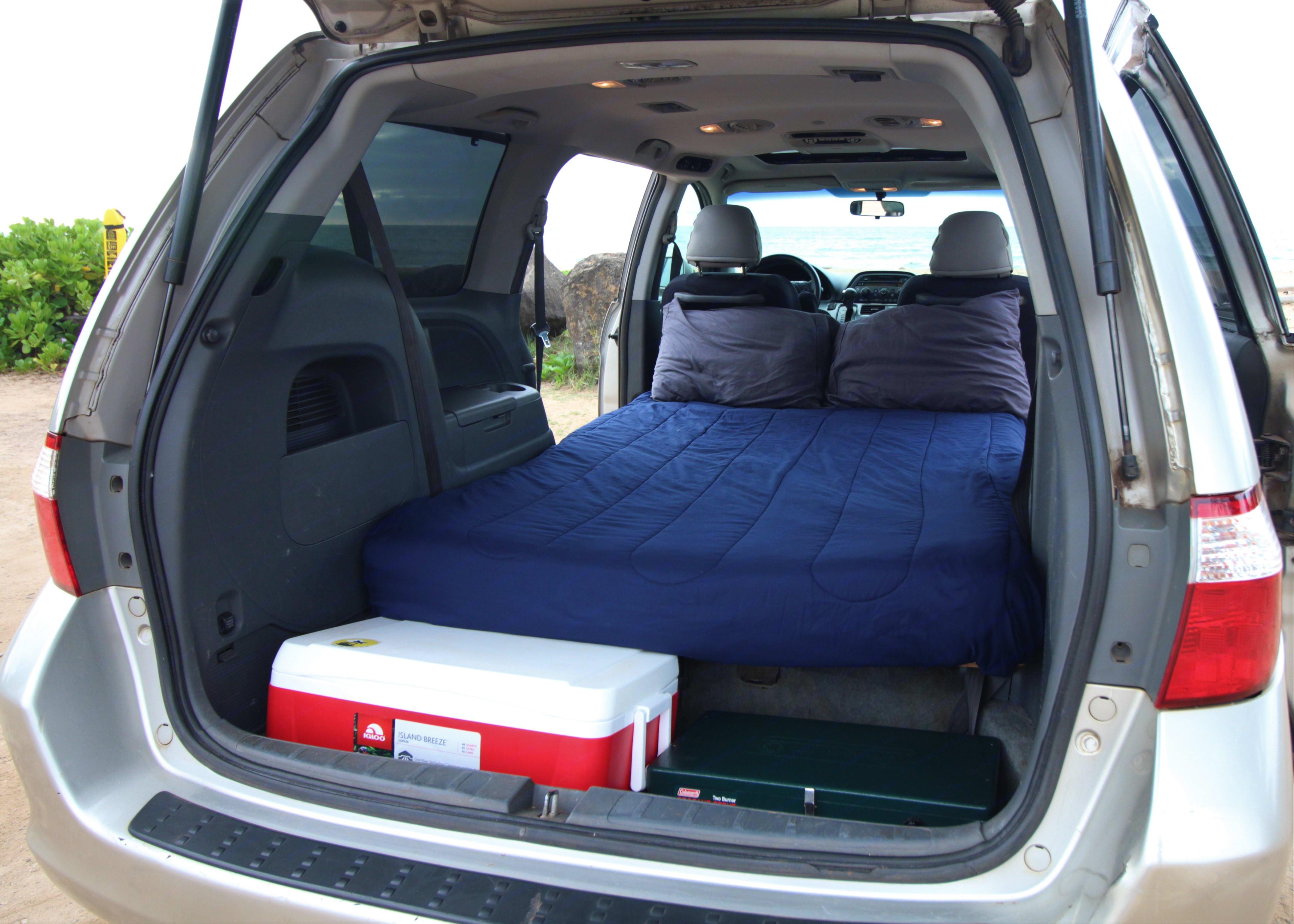 Honda Odyssey Camper 2005