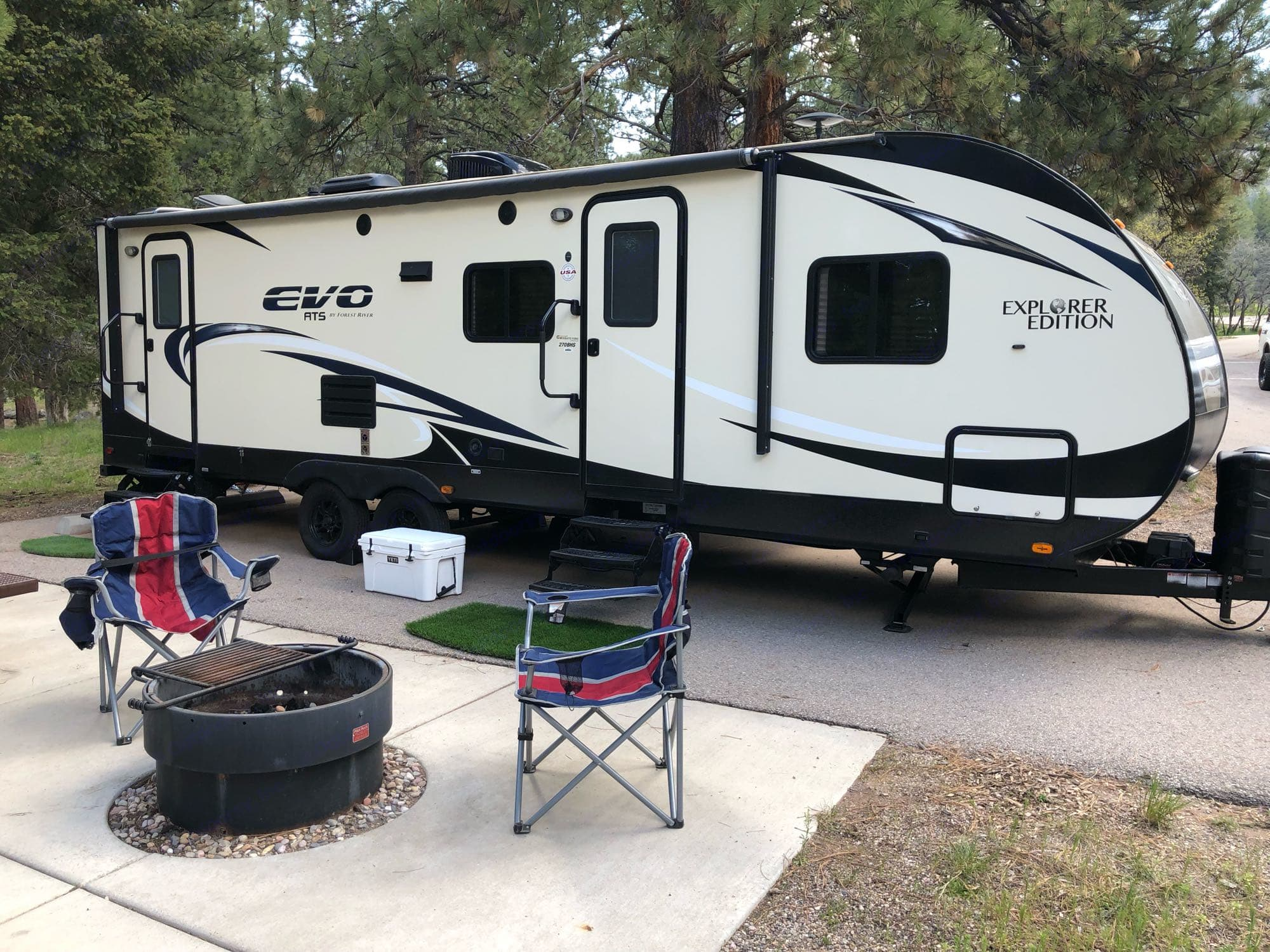 Forest River Evo T270BHS Explorer Series 2016
