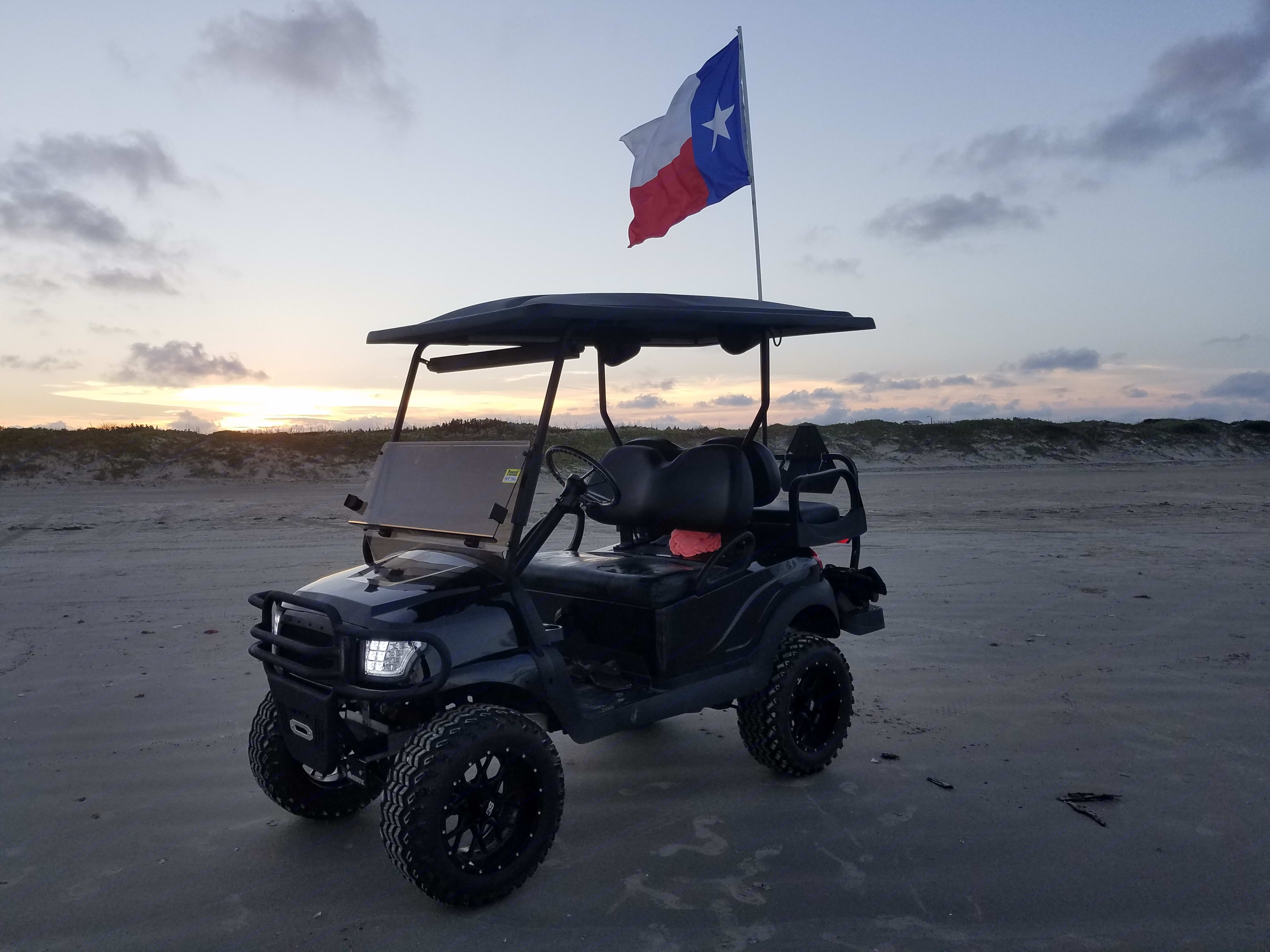 Golf Cart Available as Add-on . Crossroads Zinger 2017