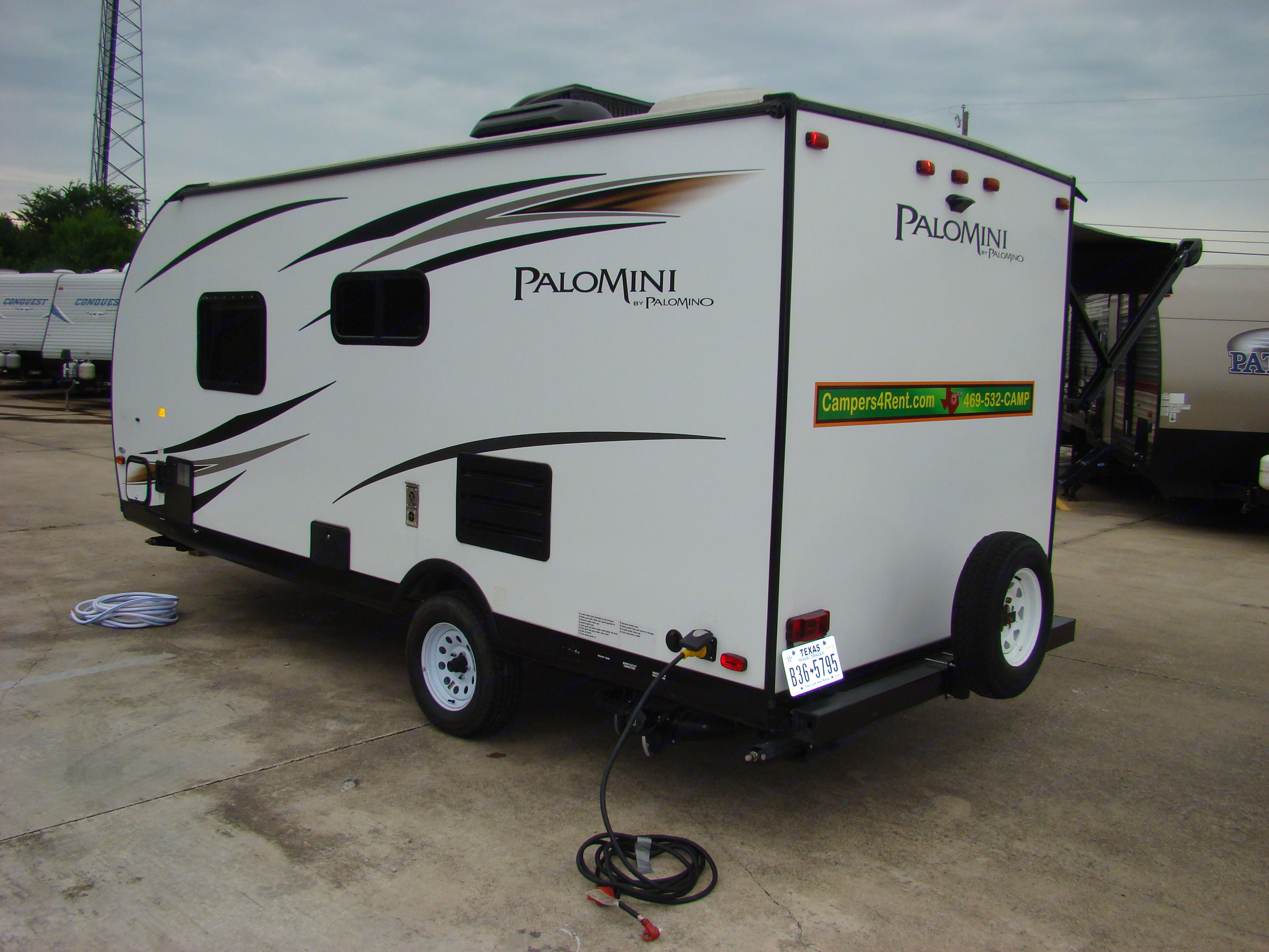 Hook up accessories included. Palomino Palomini 180FB 2019
