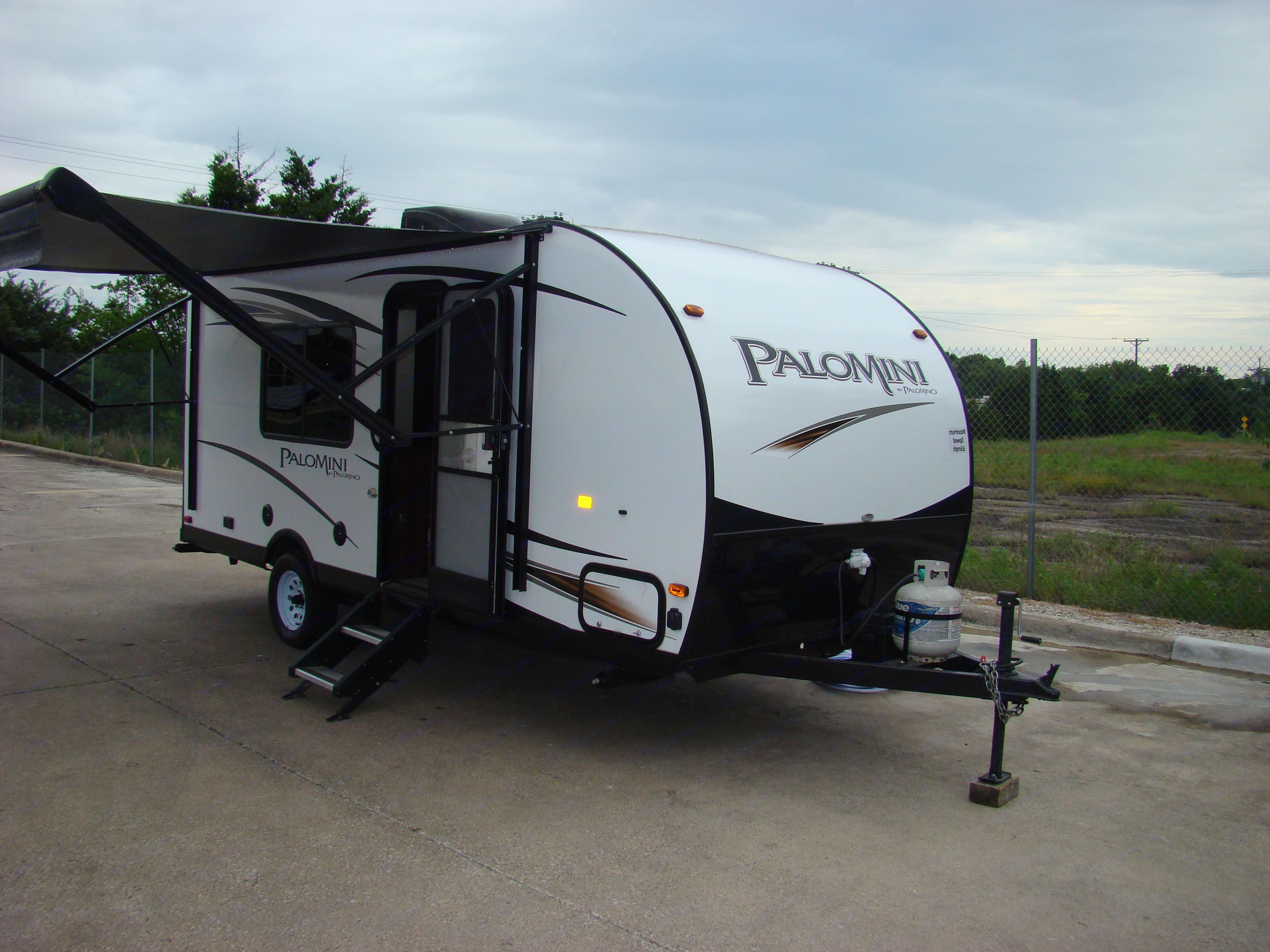 Easy to tow. Palomino Palomini 180FB 2019