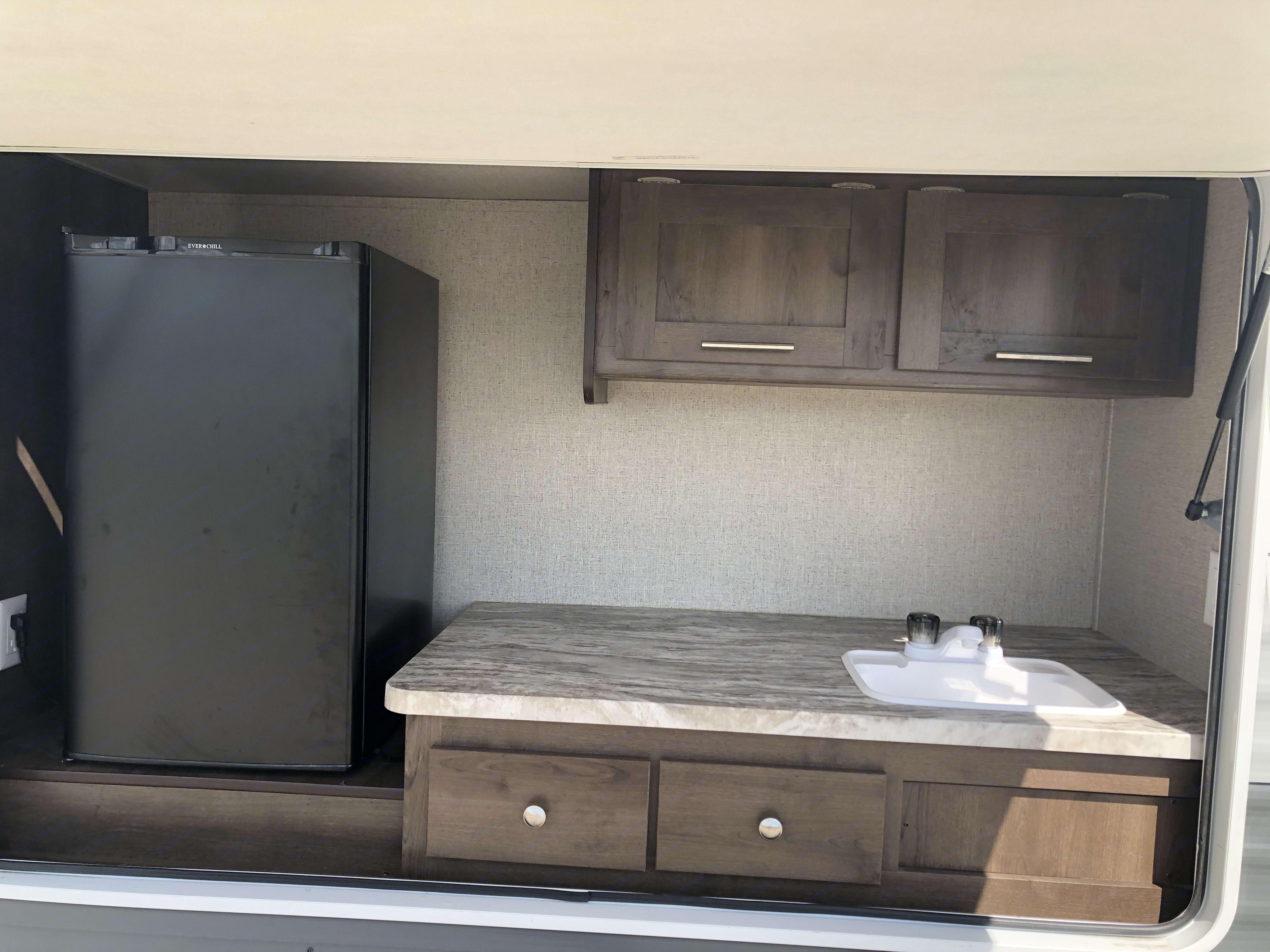 Outdoor kitchen . Forest River shasta 2019