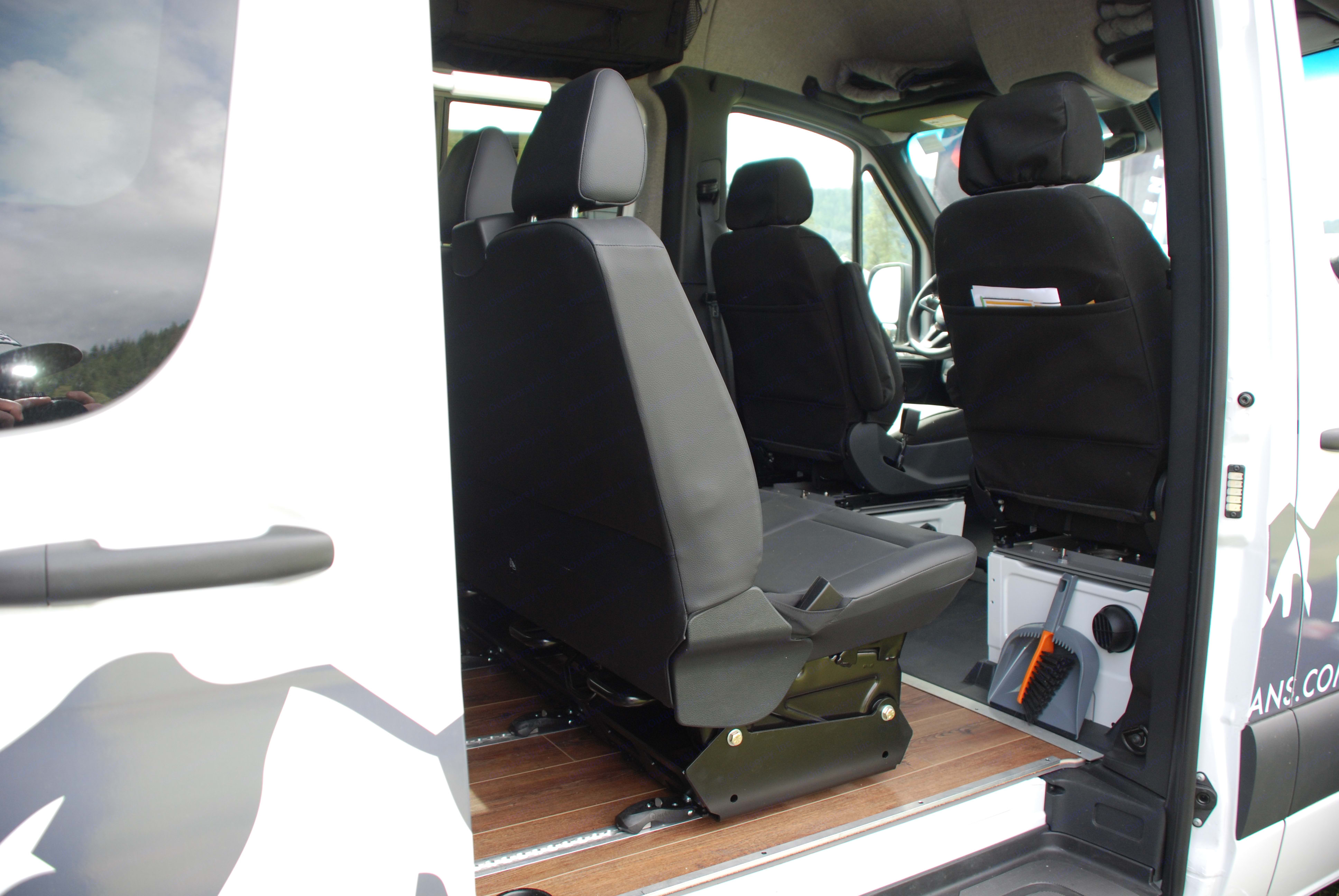 Seating for up to 5. Mercedes-Benz Sprinter 2019