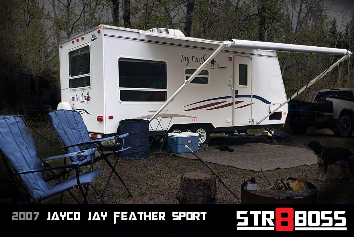 2007 Jayco Jay Feather Sport Exterior Shot. Jayco Jay Feather Sport 2007