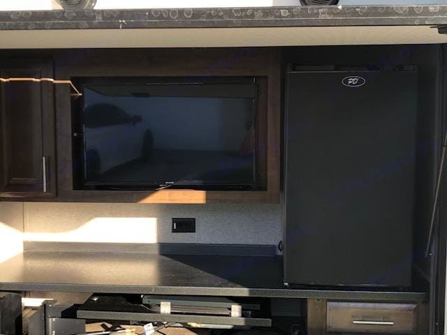 This is the outside kitchen.. Forest River Rockwood Ultra Lite 2019