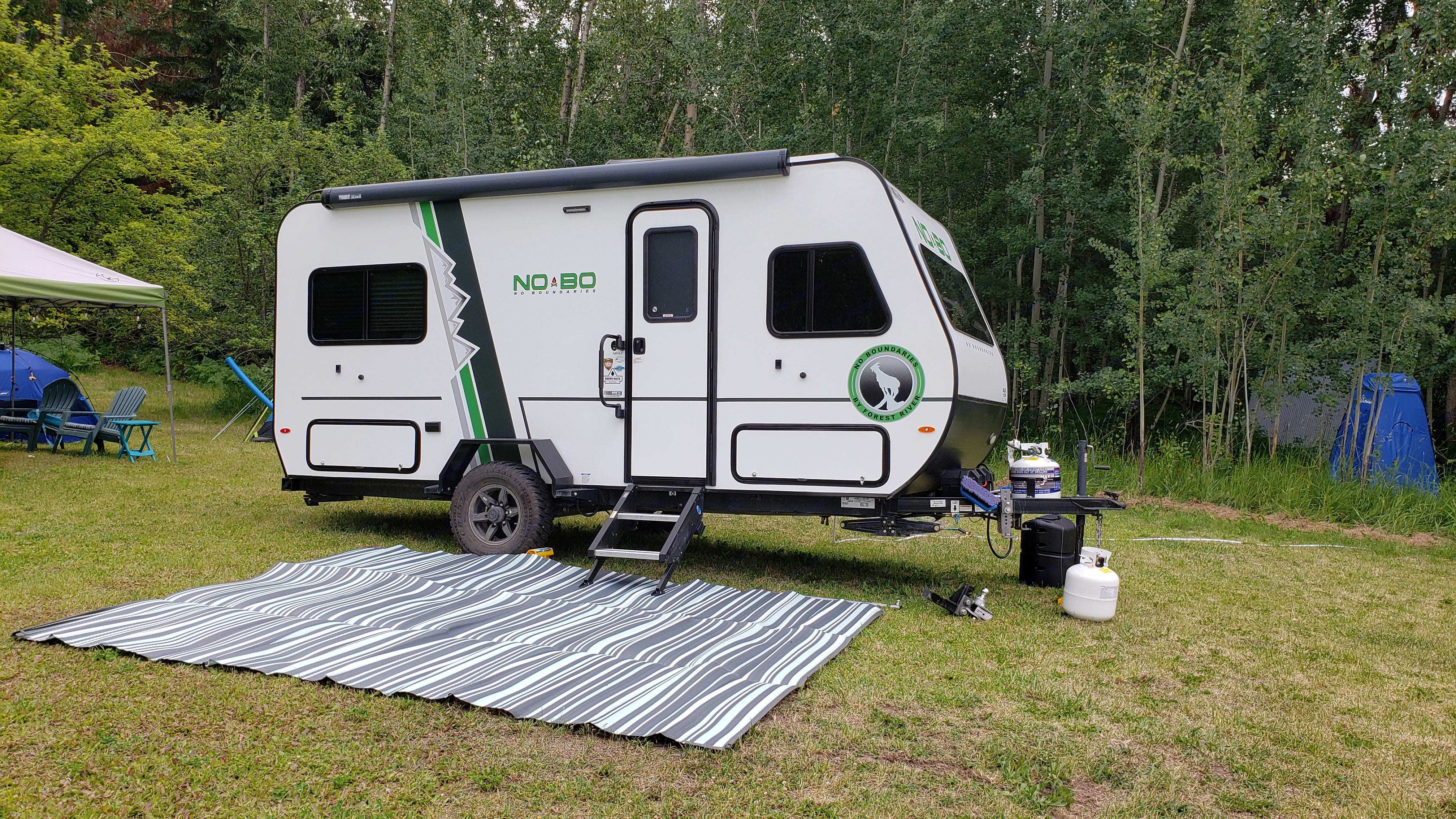 Ground mat is now included with all rentals!. Forest River No Boundaries 16.5 2019