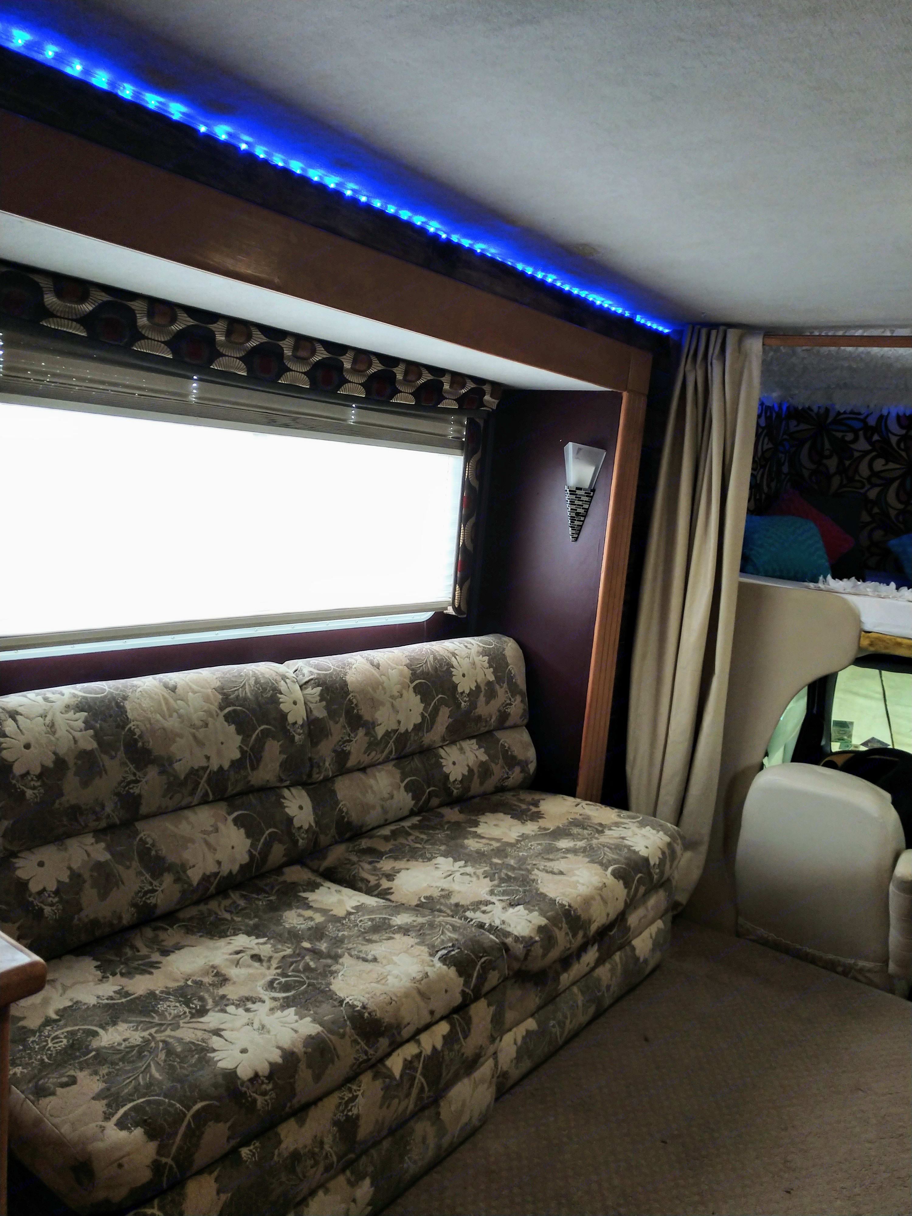 Comfy foldout couch. Jayco Granite Ridge 2003