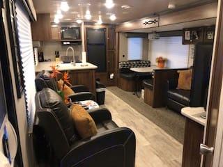 Living Area. Heartland Mallard 2019
