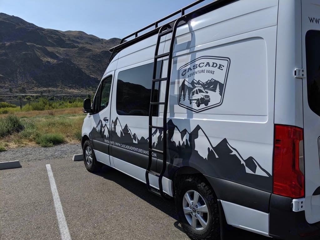 Cascade Adventure Vans 2019 Sprinter camper van. Mercedes-Benz Sprinter 2019
