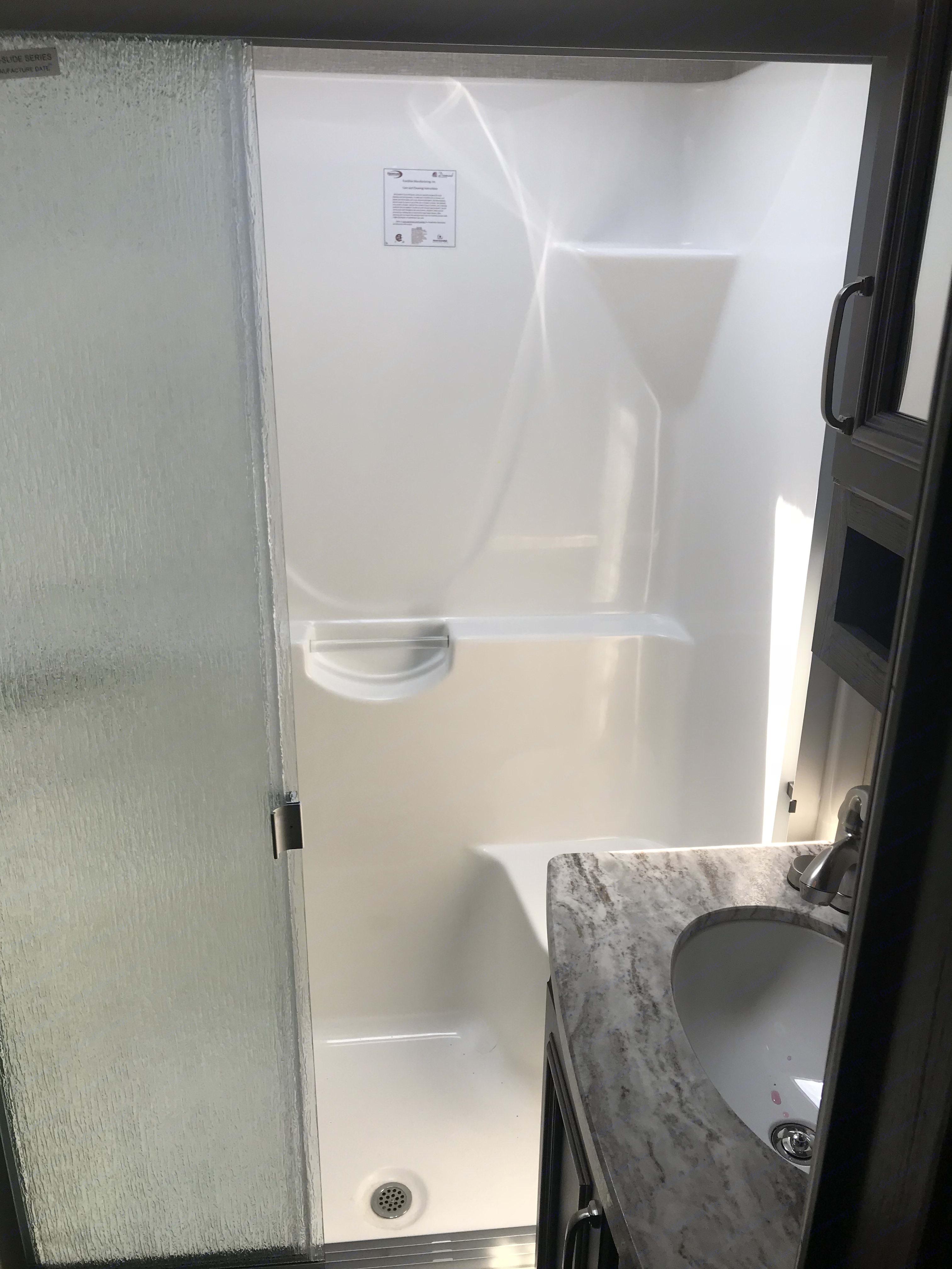 Bathroom. Keystone Montana High Country 2018