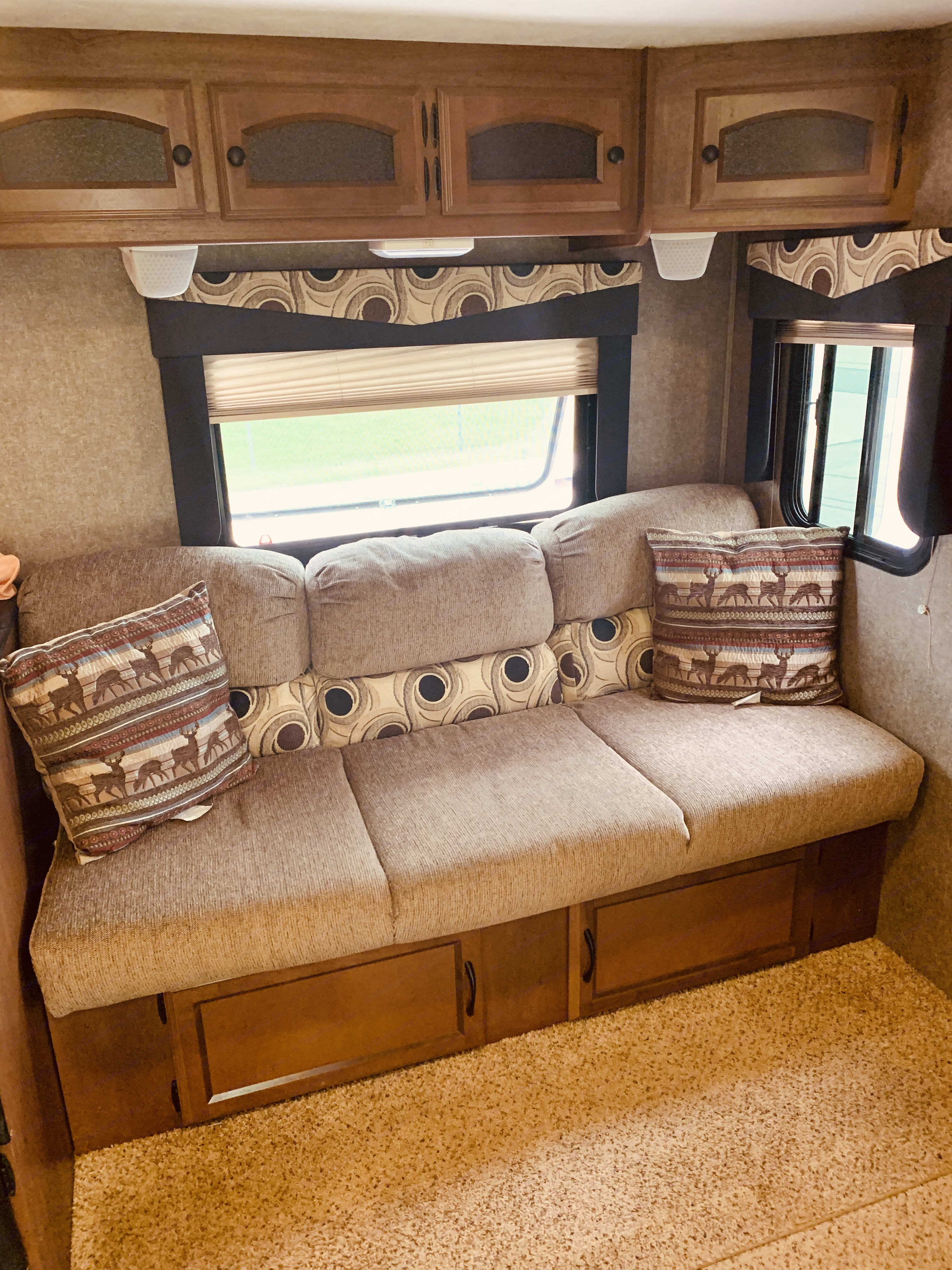 Living room area . Coachman Freedom express 2014