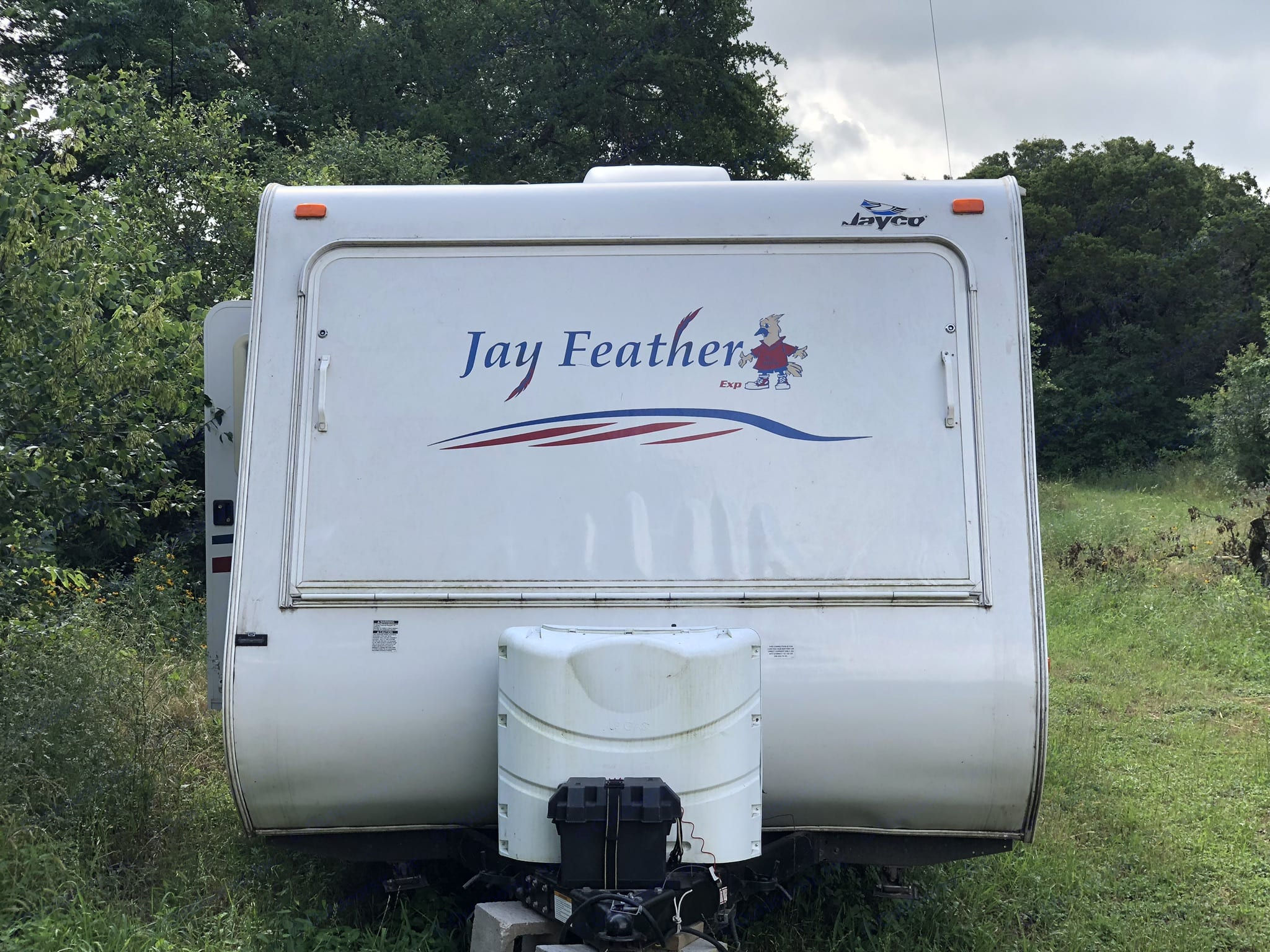 Frontal View. Jayco Jay Feather Ultra Lite 2007