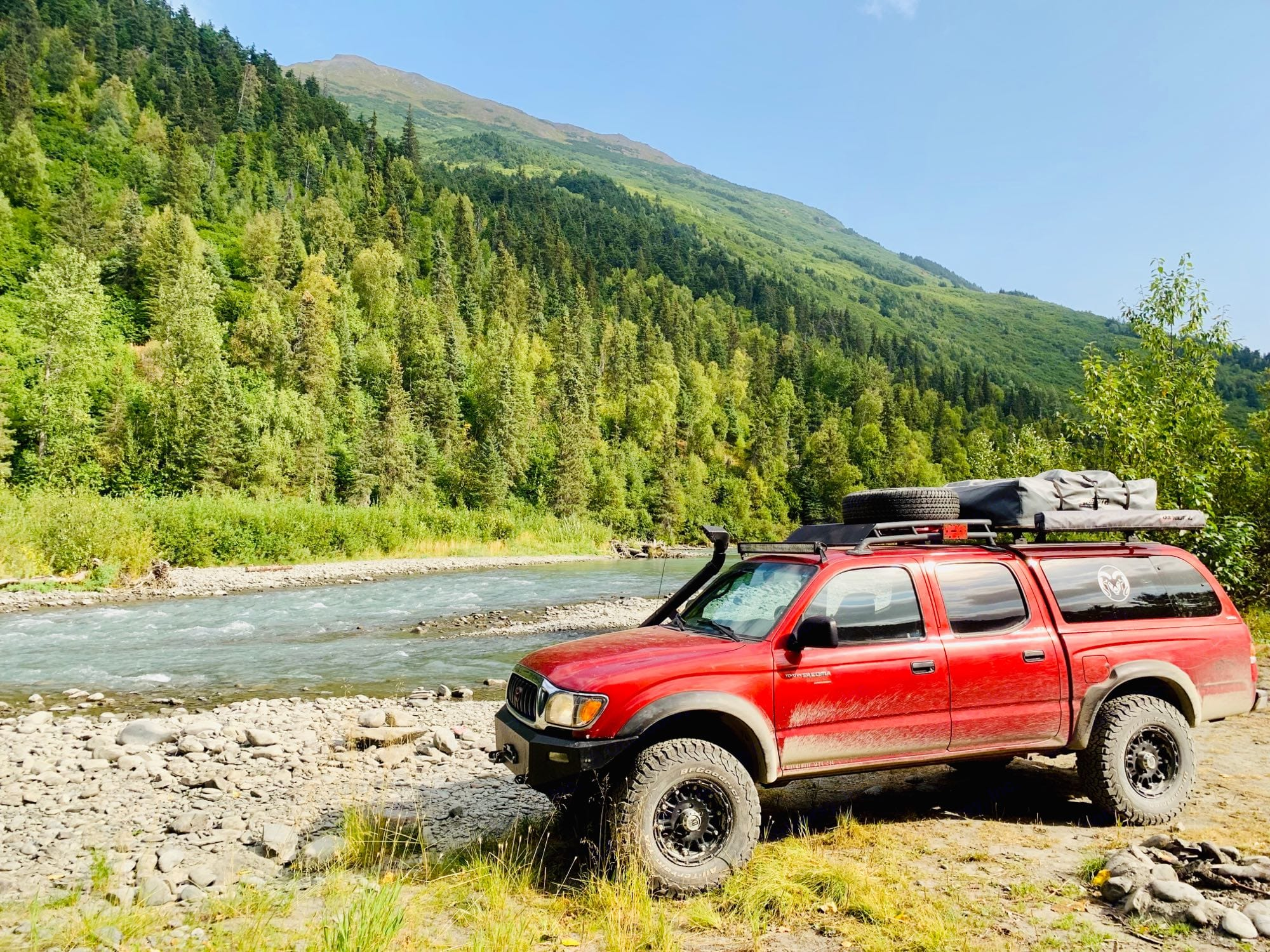 secret camping spot I'll tell you how to get there. . Toyota Tacoma 2001
