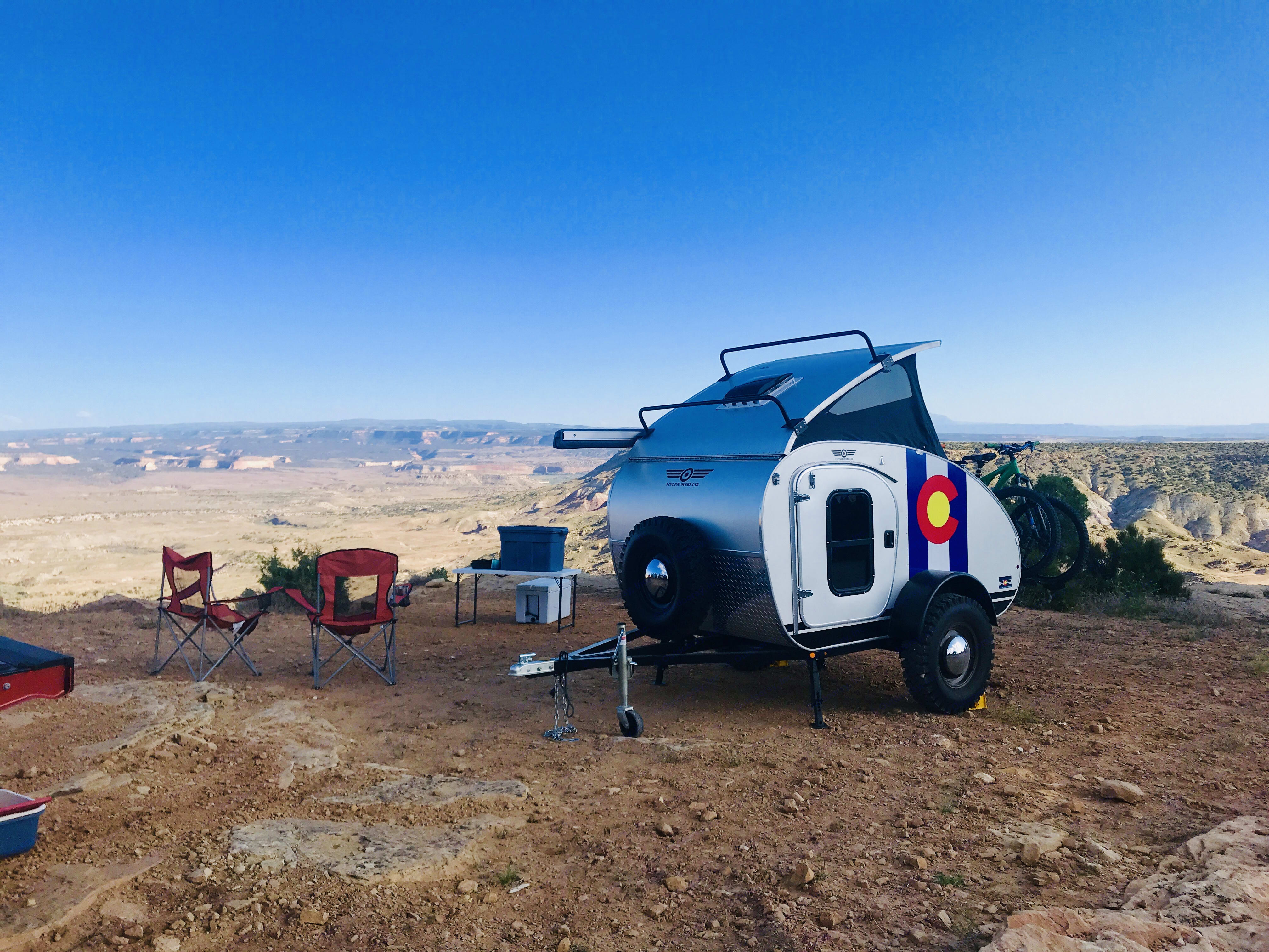 Introducing the fun, little, Colorado Girl Caravan!  She is ready for all of your adventures!. Vintage Overland T. E. Lawrence 2019