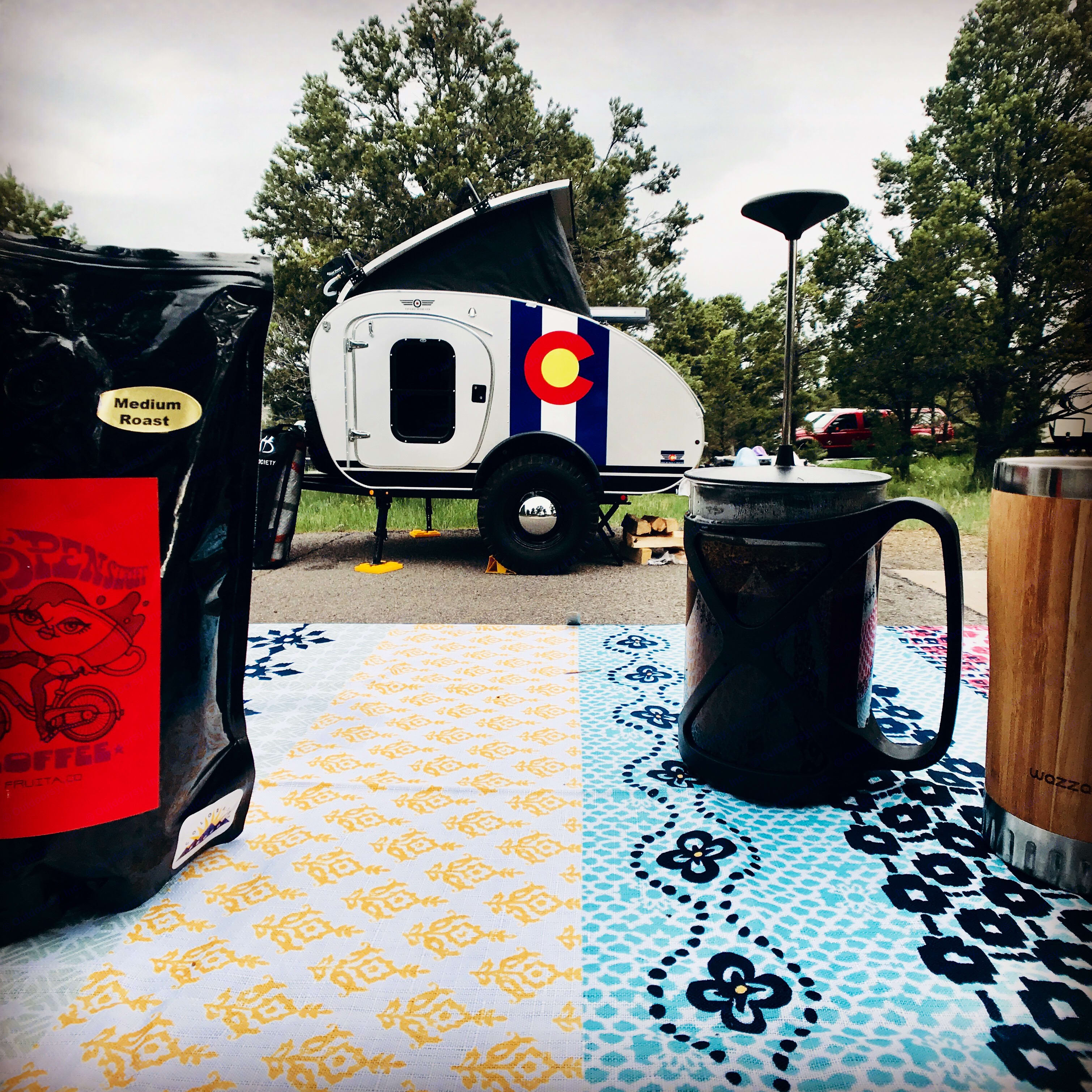 Adventurous stays at places like Ridgway State Park.... Vintage Overland T. E. Lawrence 2019