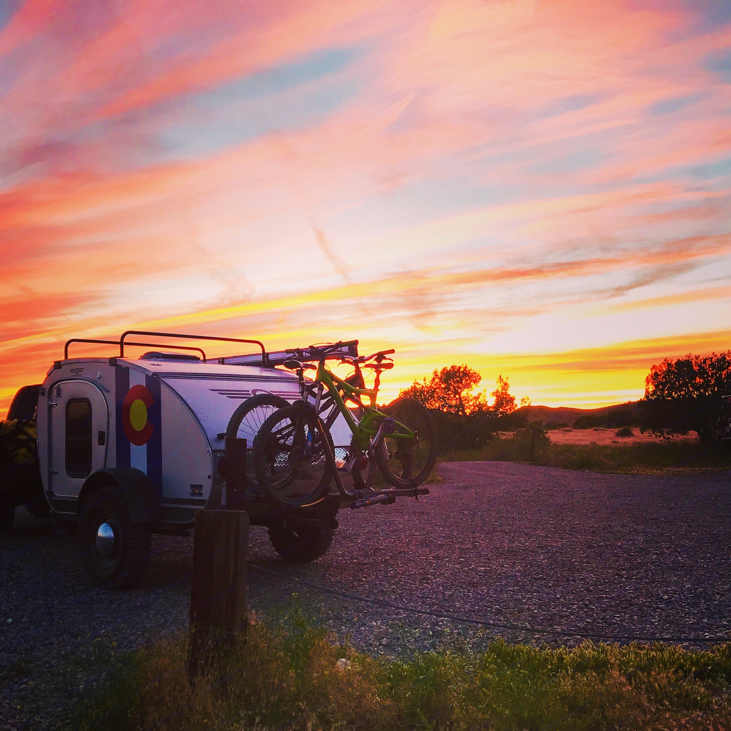 Camping and mountain bike trips at 18 Road in Fruita.... Vintage Overland T. E. Lawrence 2019