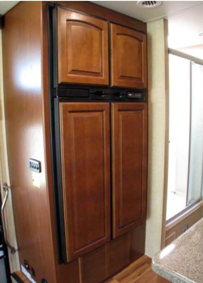 Double Door Fridge. Jayco Precept 2015