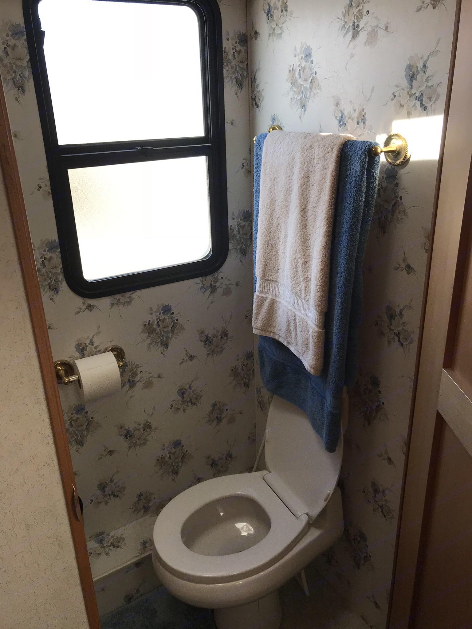 bathroom. Fleetwood Discovery 2000
