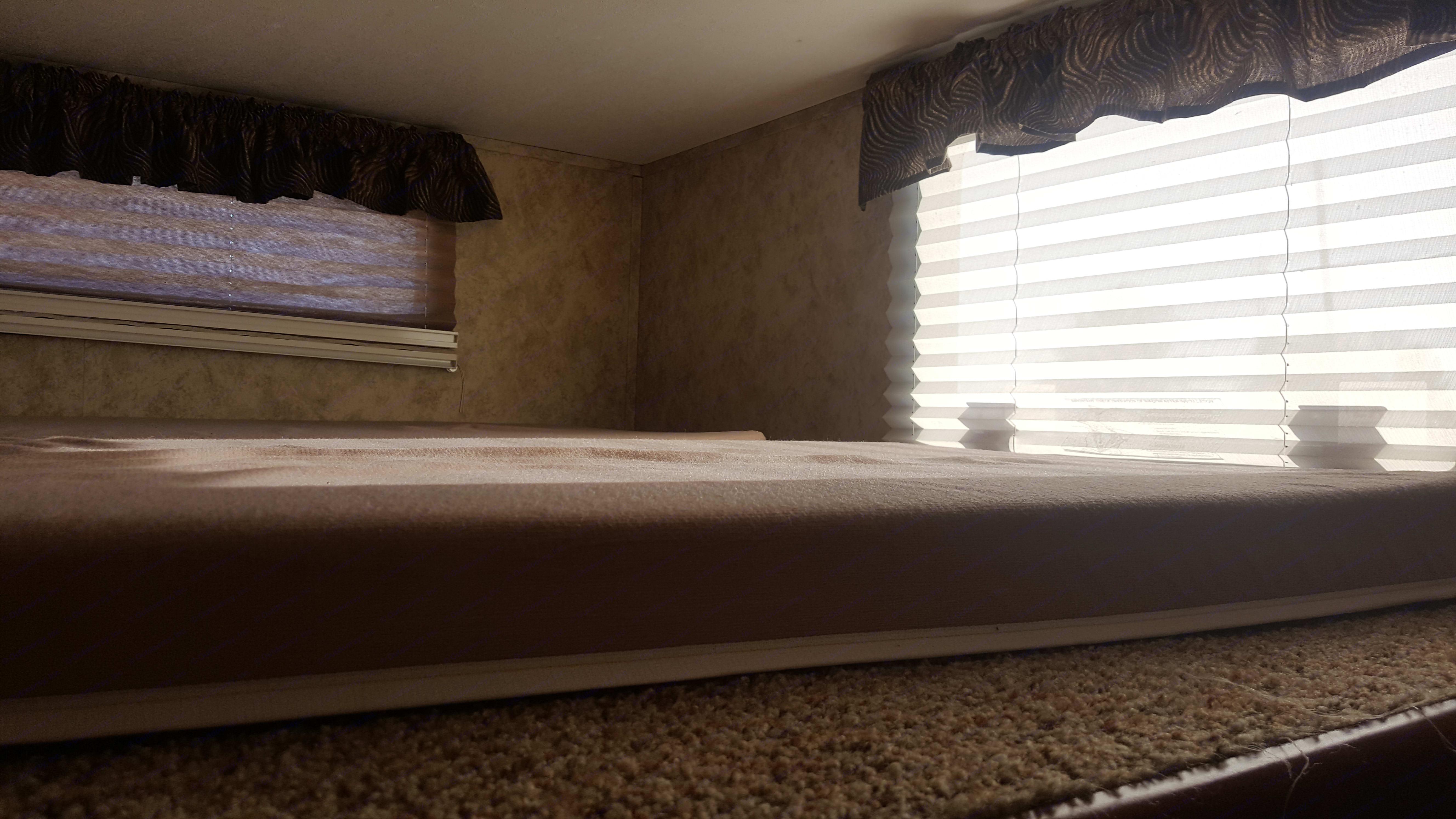 Upper rear loft sleeping. Keystone Cougar 2012