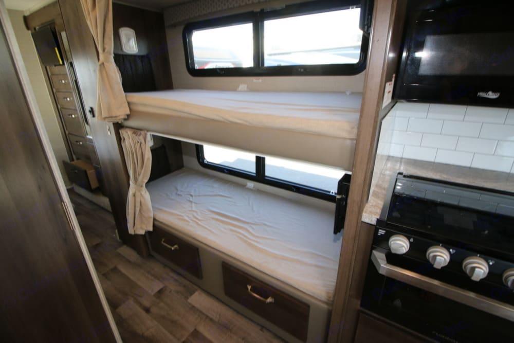 Bunk beds. Enough said.. Jayco Greyhawk 2019