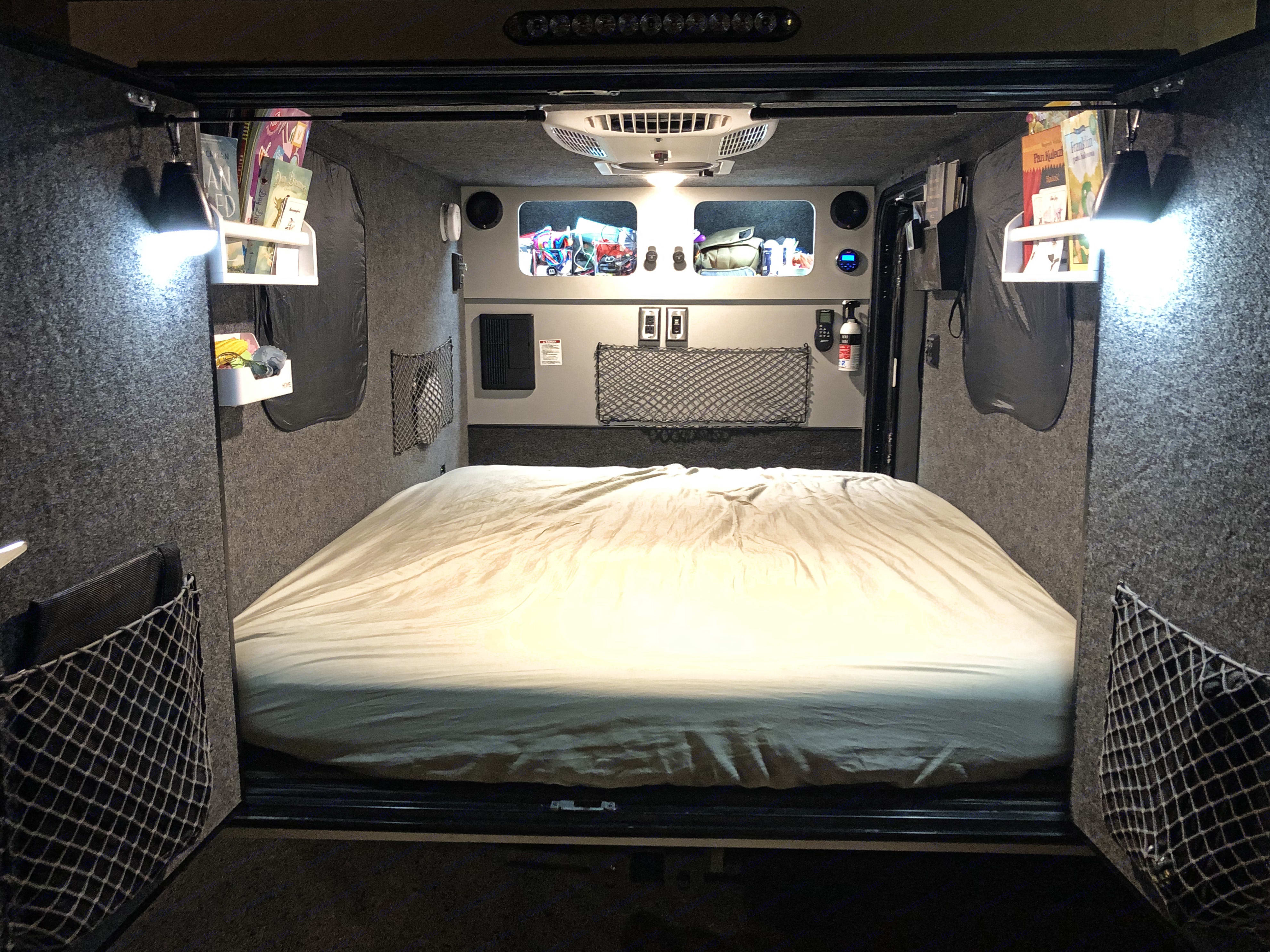 Cozy interior. InTech RV Flyer Pursue 2018