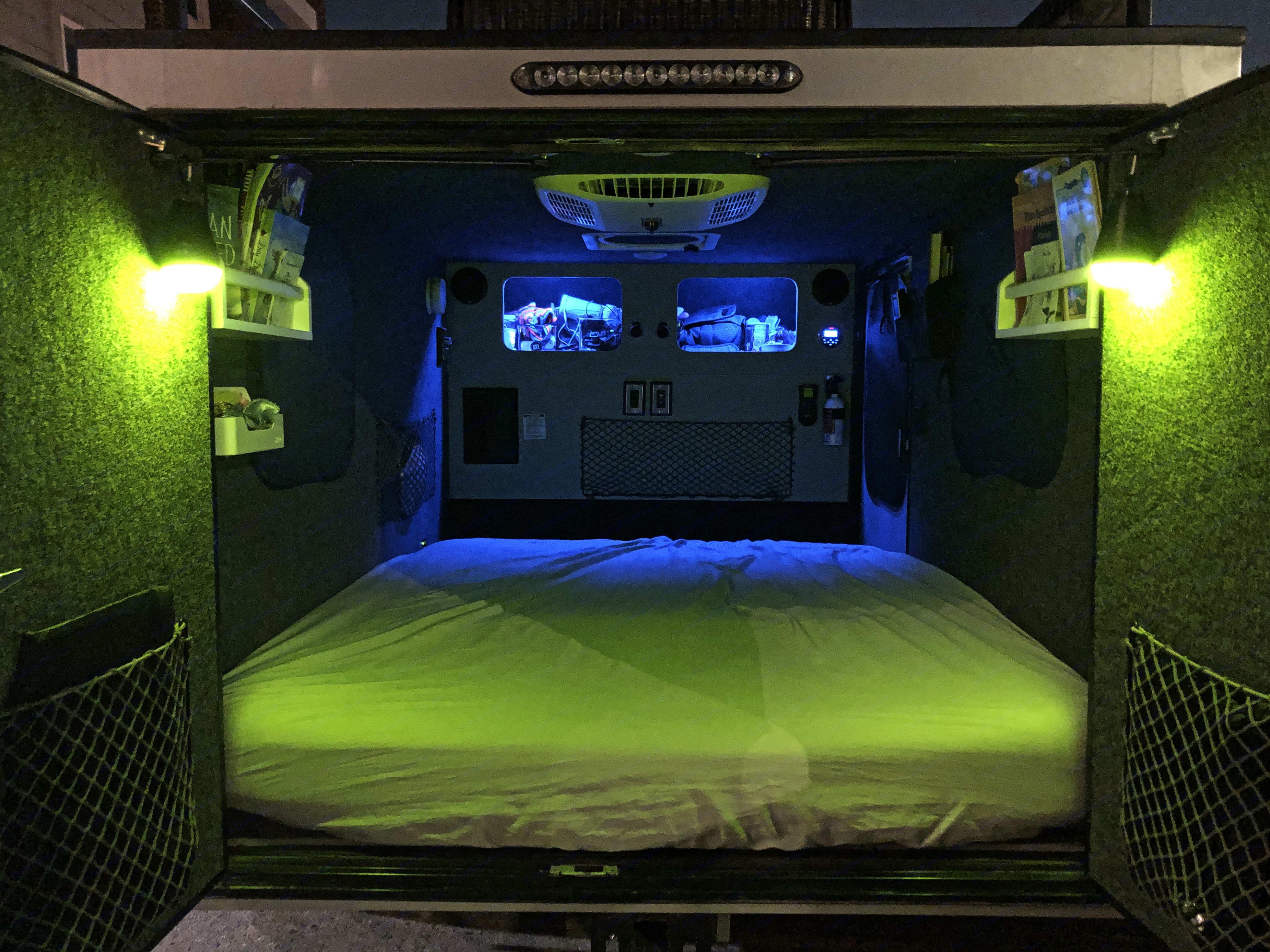 Night lights mode. InTech RV Flyer Pursue 2018