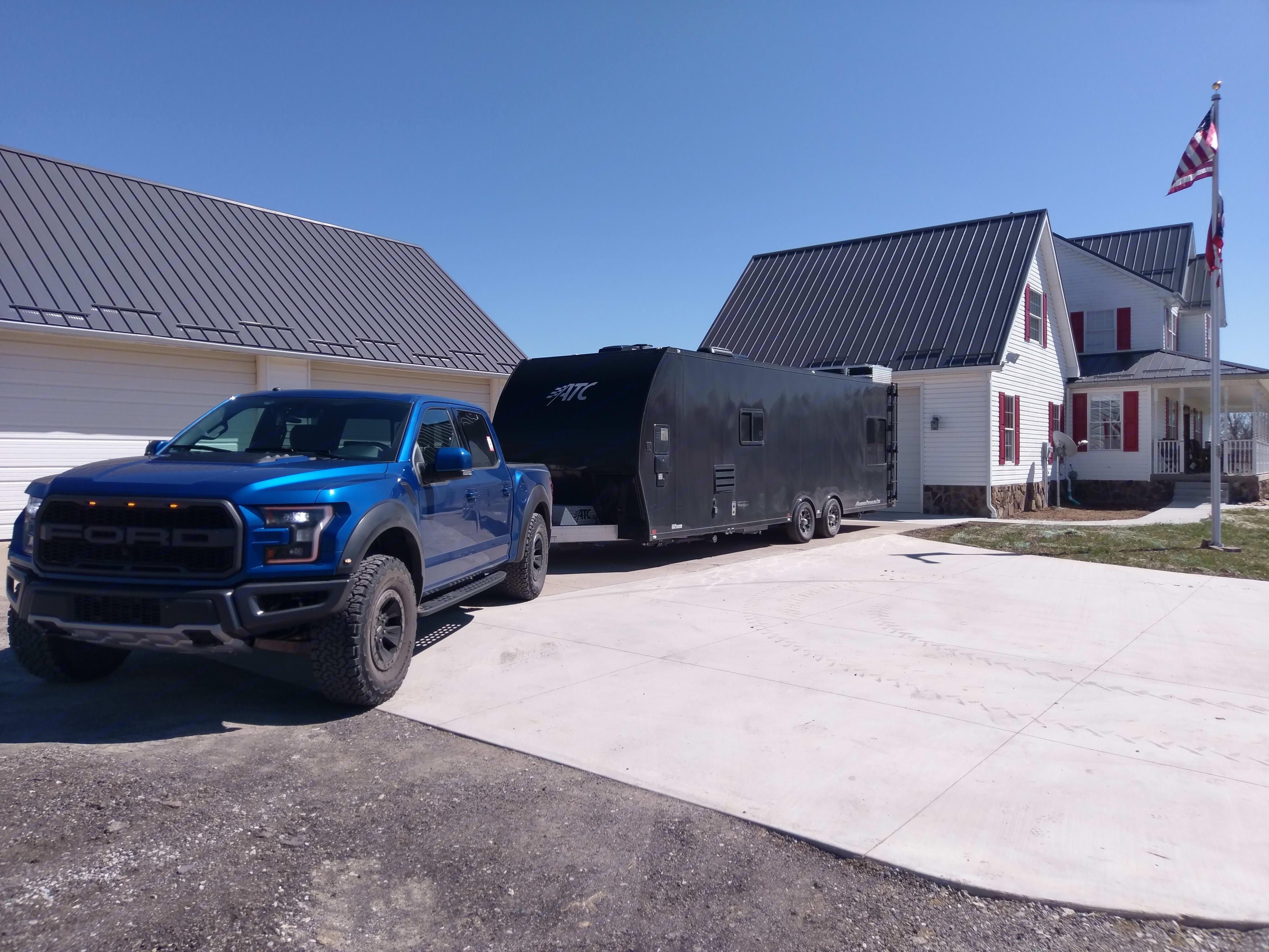 Aluminum Trailer Company Toy Hauler 2018