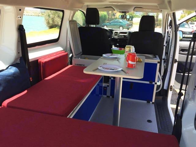 Salón montado Puzzle Camper M. Ford Transit 2019