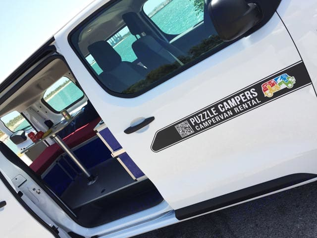 Puerta lateral Puzzle Camper M. Ford Transit 2019