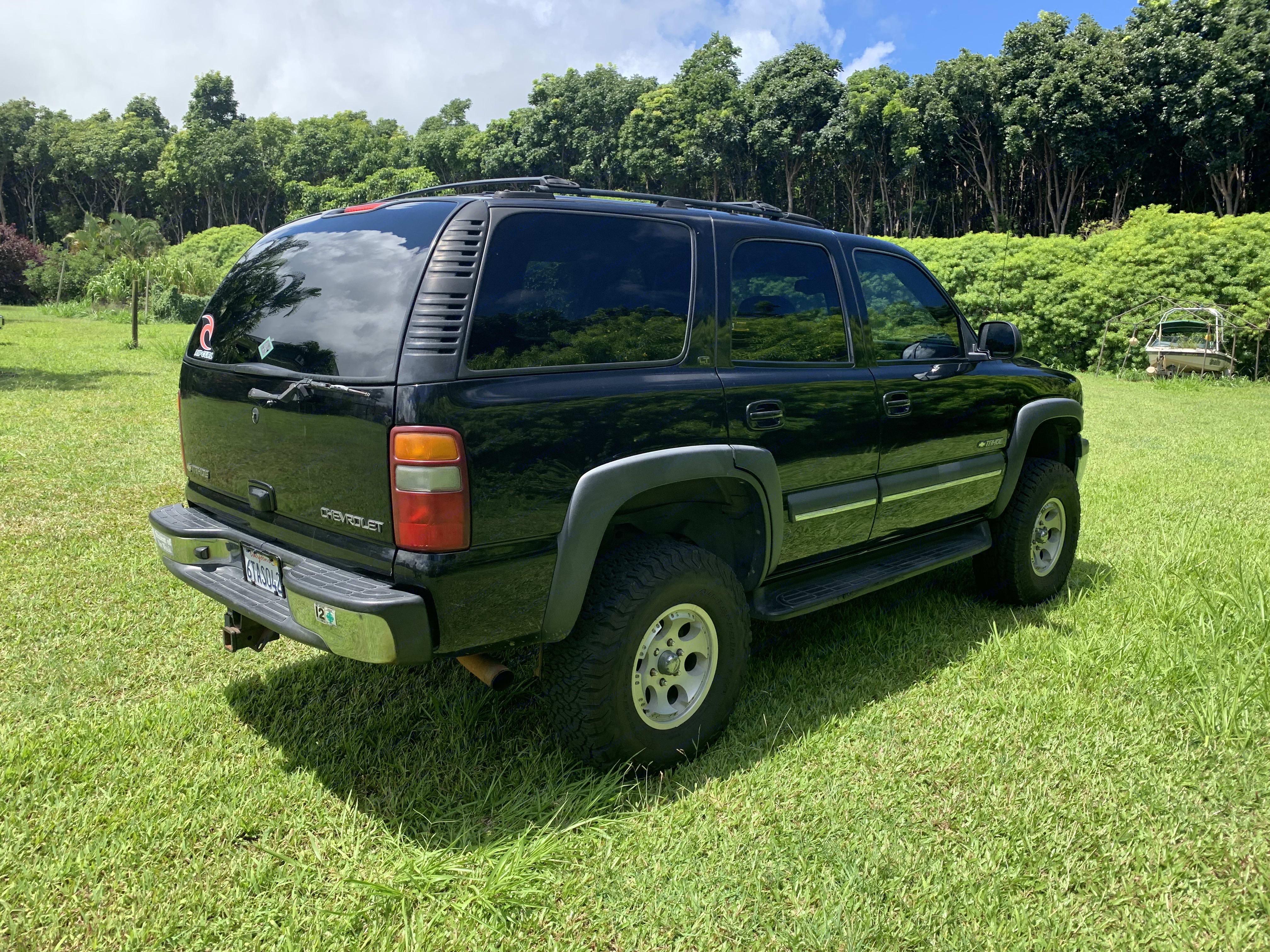 Chevrolet Tahoe 4 x4 2002