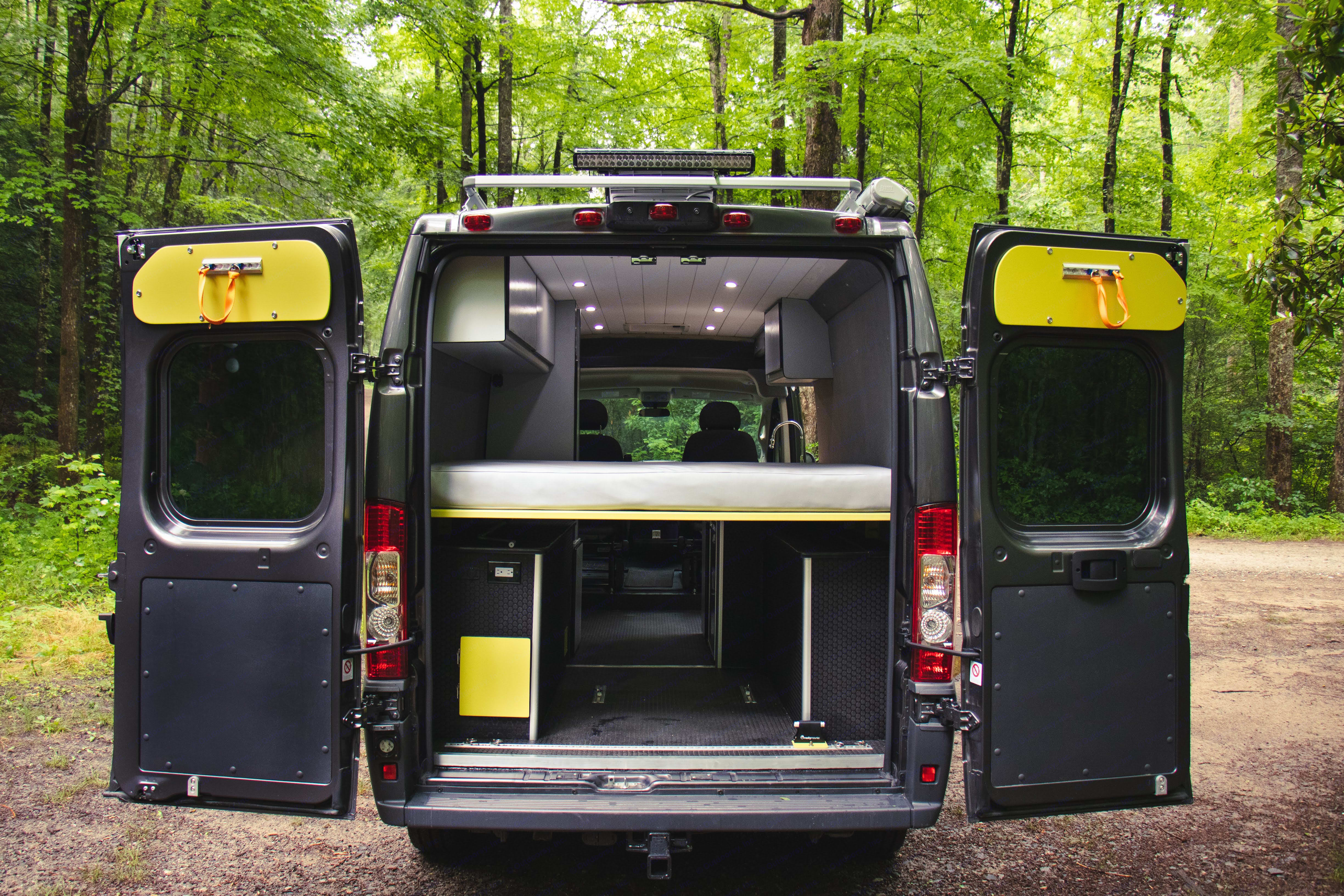 plenty of room for all your gear. Ram Promaster 2500 2018