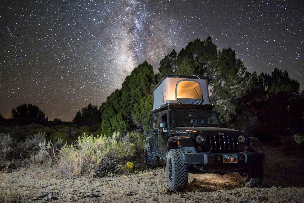 This is no longer the current tent model. Jeep Rubicon Wrangler Unlimited 4 door 2018