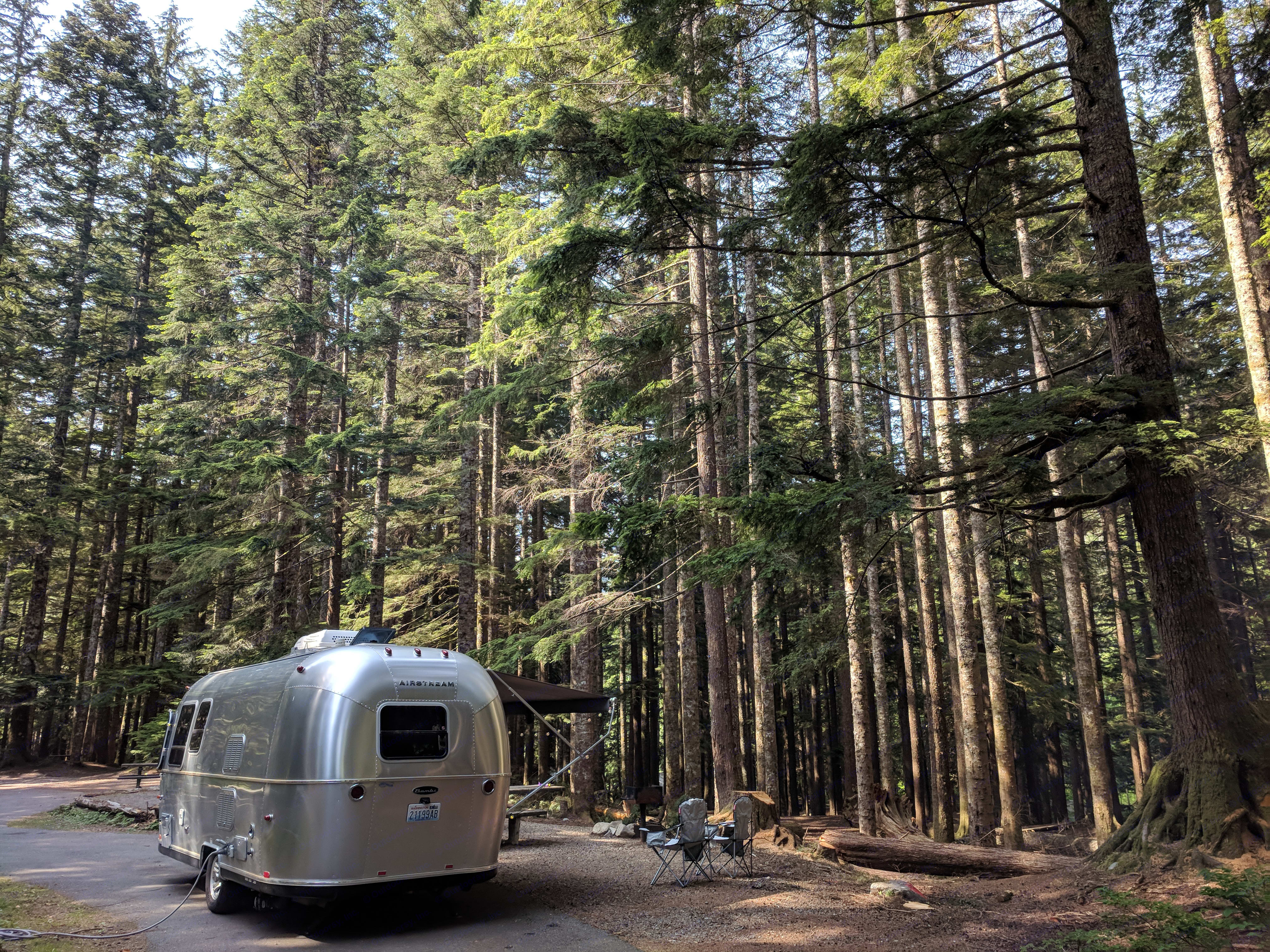 The Airstream is versatile and the 22' length fits most campsites.. Airstream Sport 2014