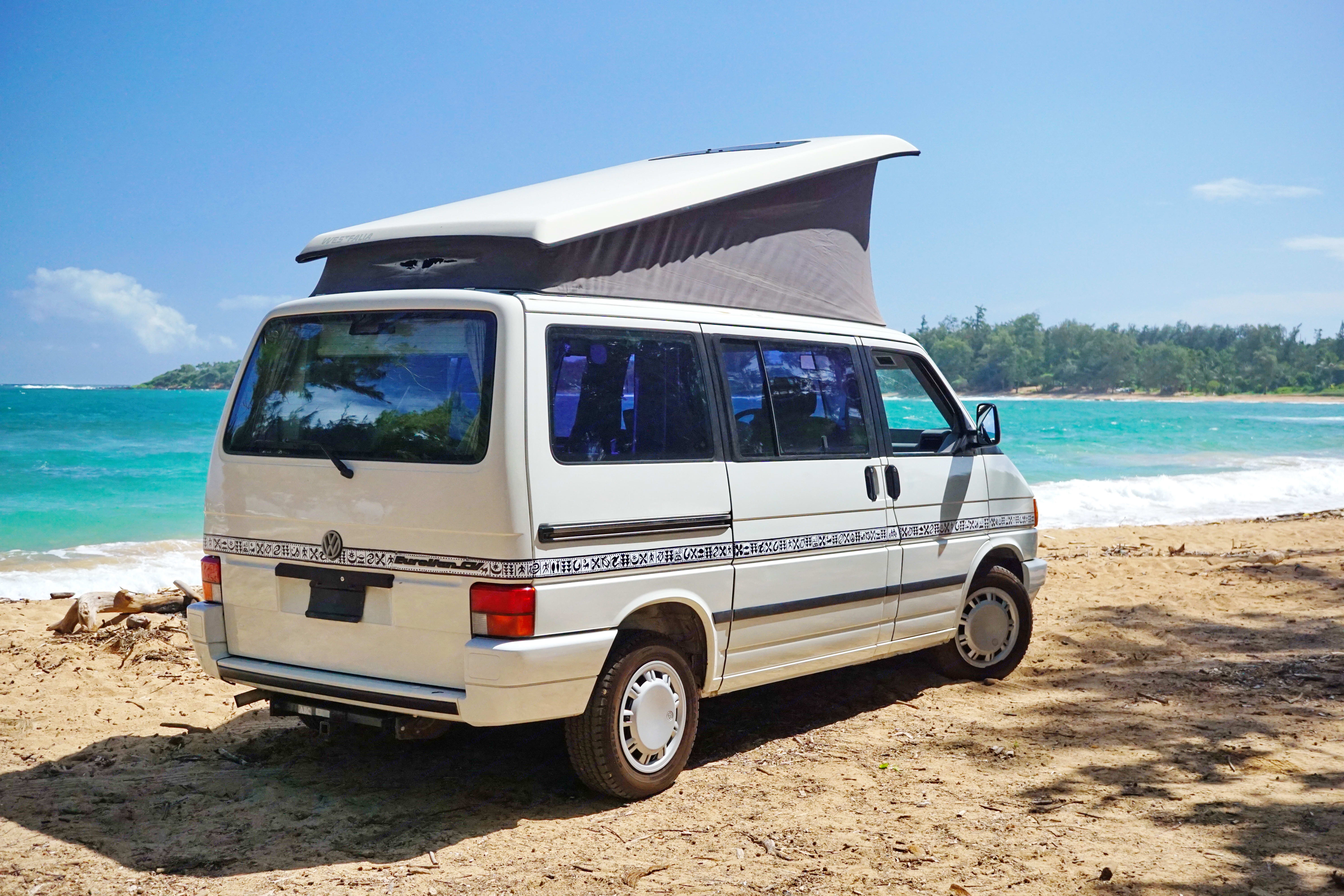 The newer Eurovan was a great leap in technology from the Vanagon.. Volkswagen Eurovan 1993