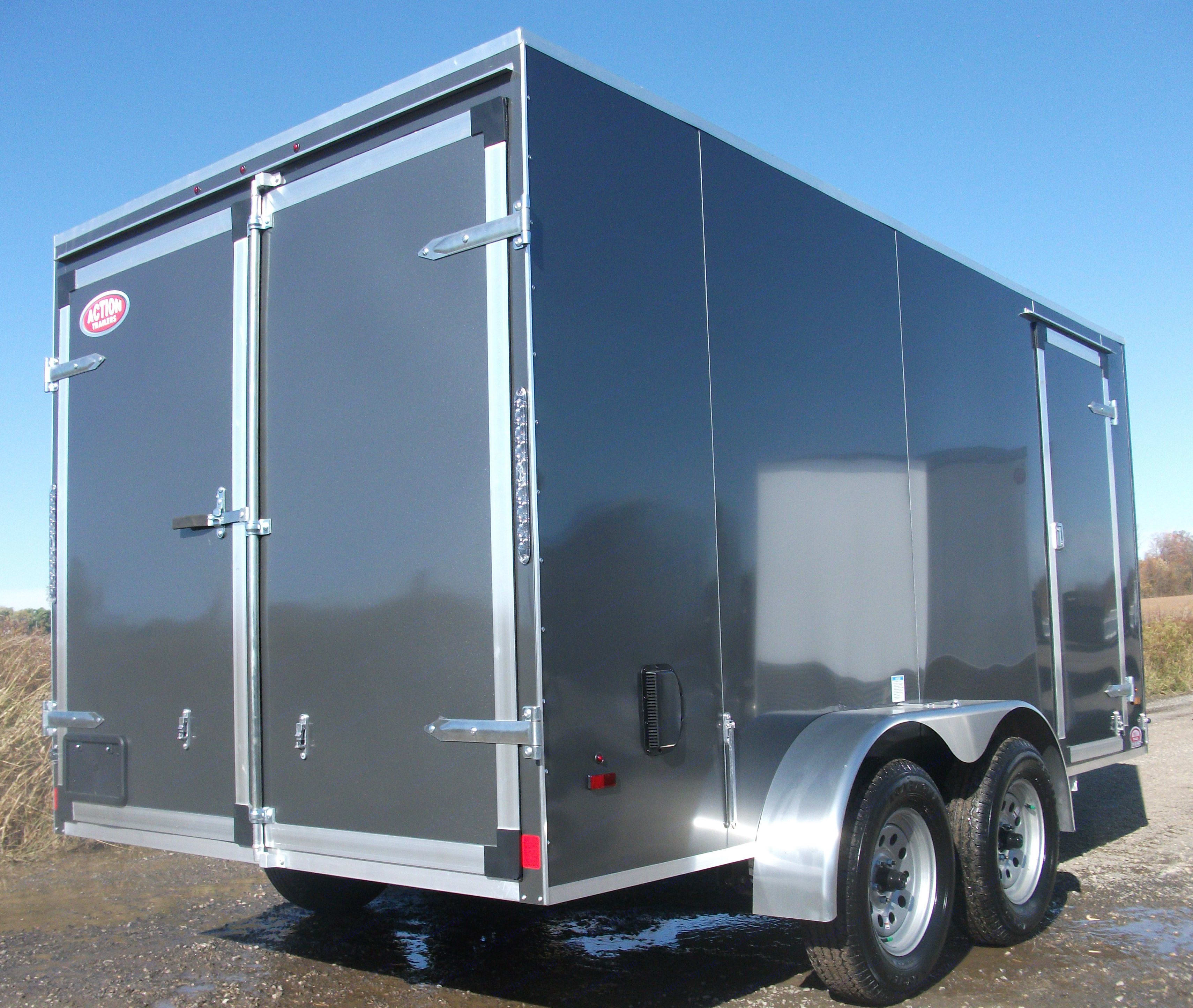 Barn & Side Doors. Forest River 14' Cargo 2020