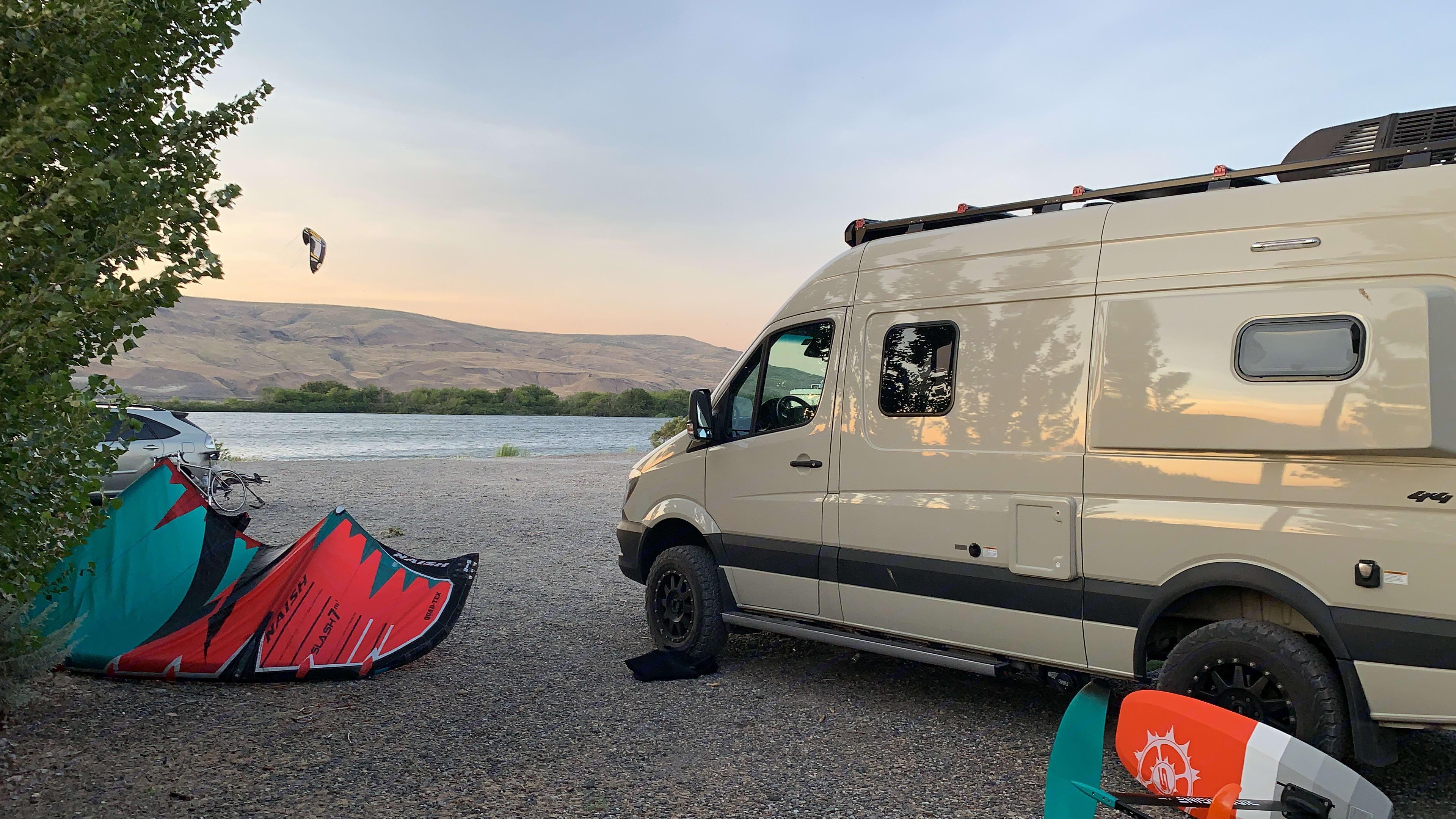 Zen Space Van. Winnebago Revel Mercedes Sprinter 2019