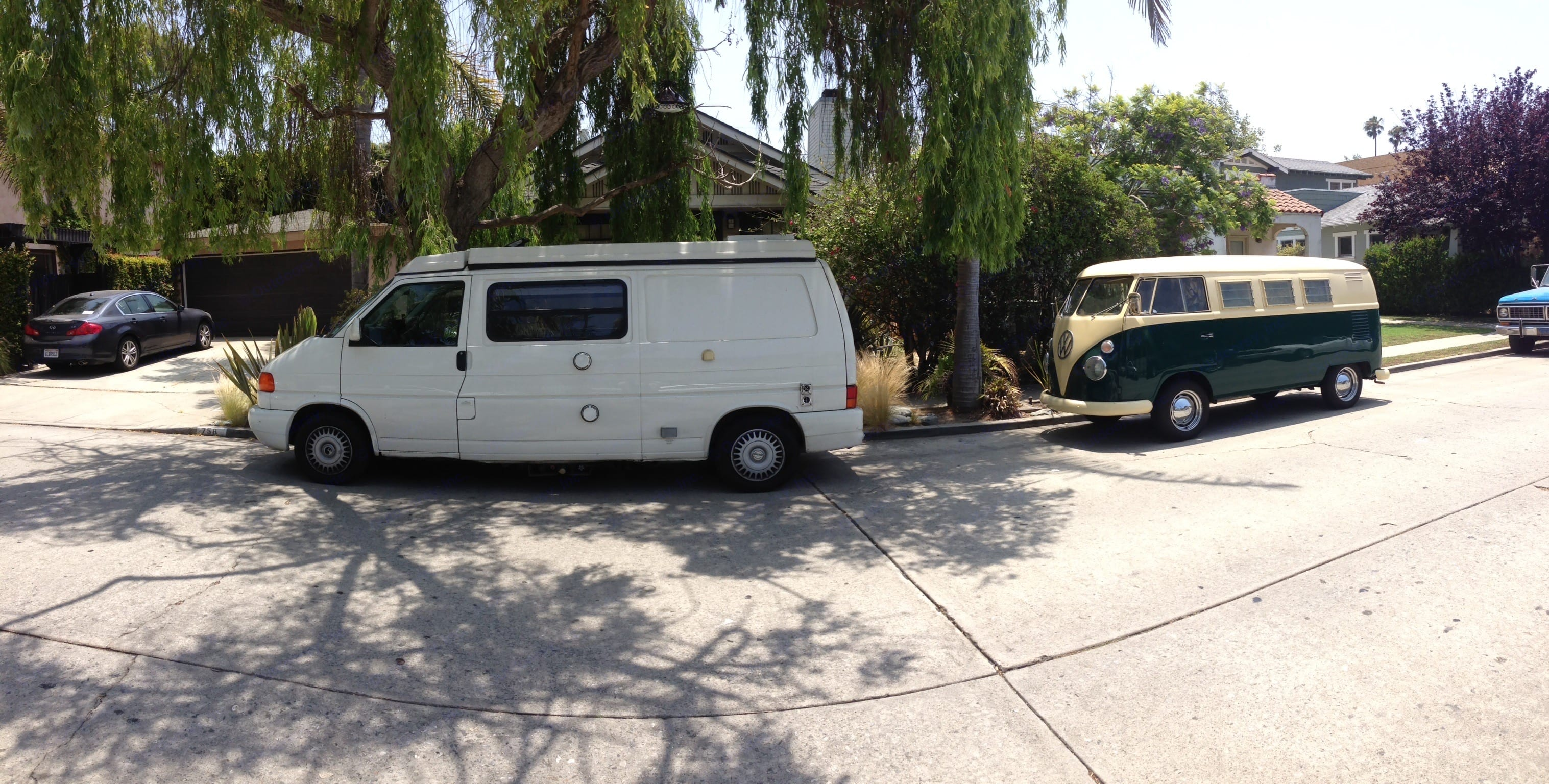 In the spirit of the original, but with more room, comfort, power, and reliability.. Volkswagen Eurovan Camper 1999