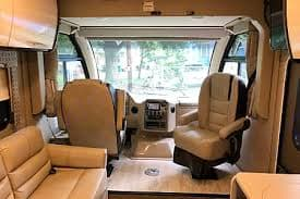 Front area. Thor Motor Coach Axis 2018