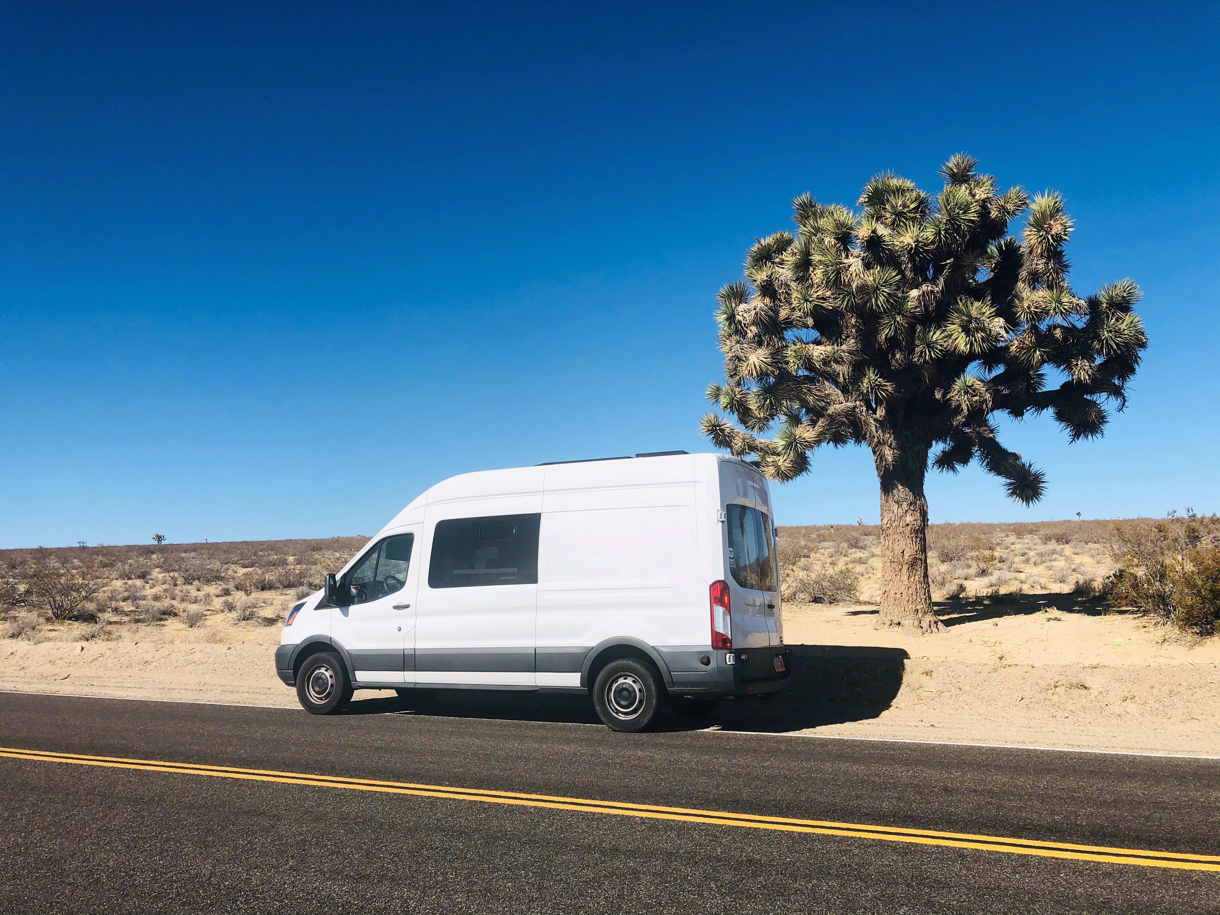 Van on the go. Ford Transit 2015