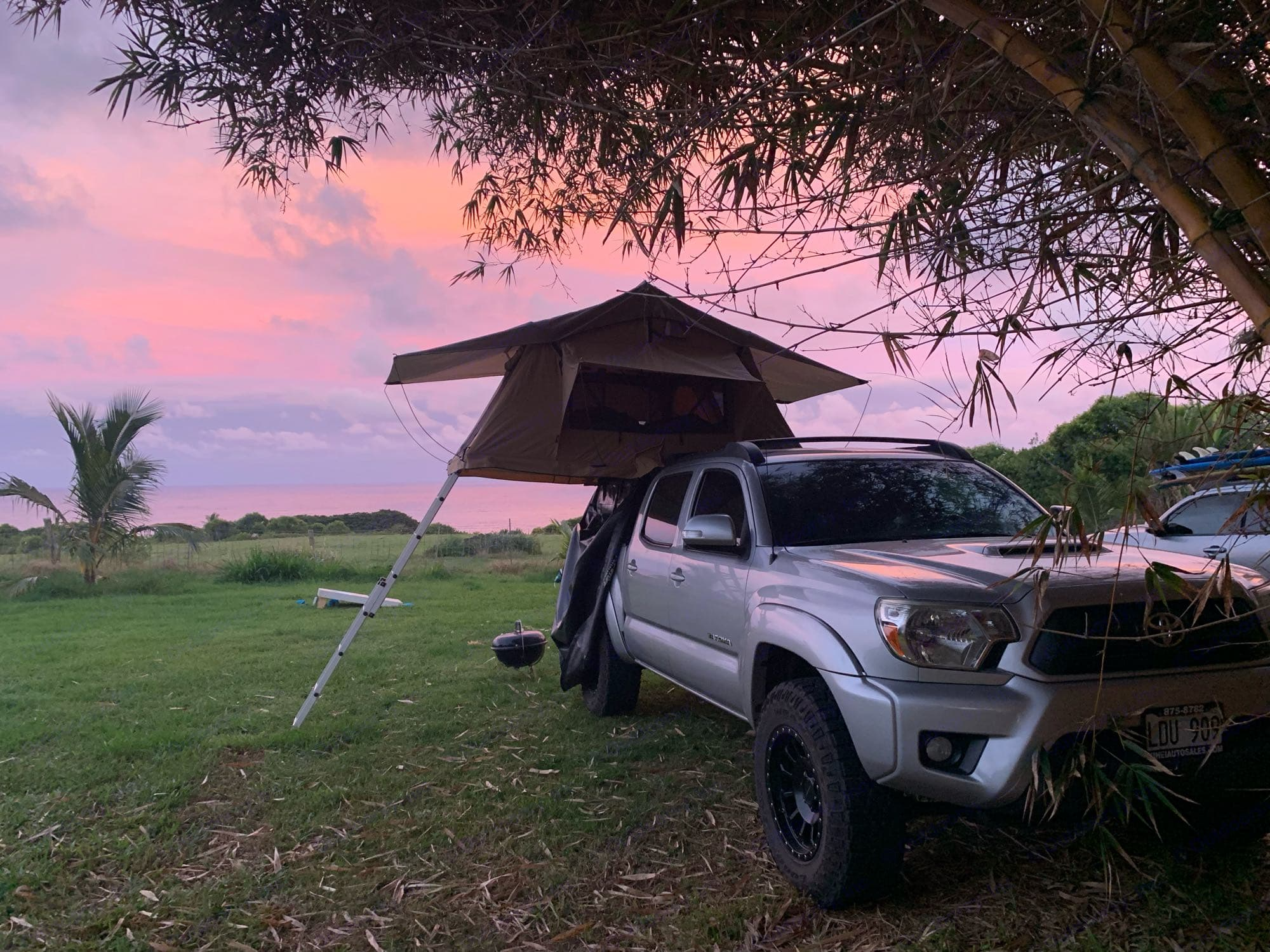 Toyota Tacoma Sport 4x4 Tuff Stuff Overland Rooftop Tent 2013