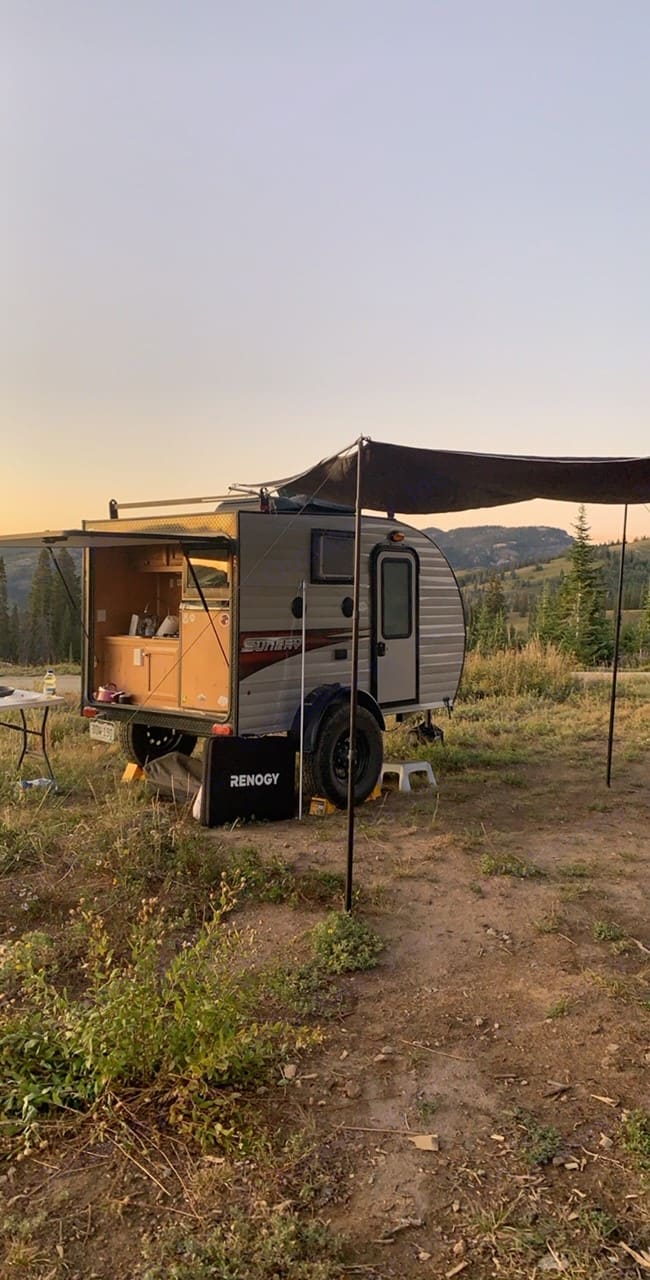 Enjoy mountain views from your very own mobil hotel room! . Sun Ray Other 2019