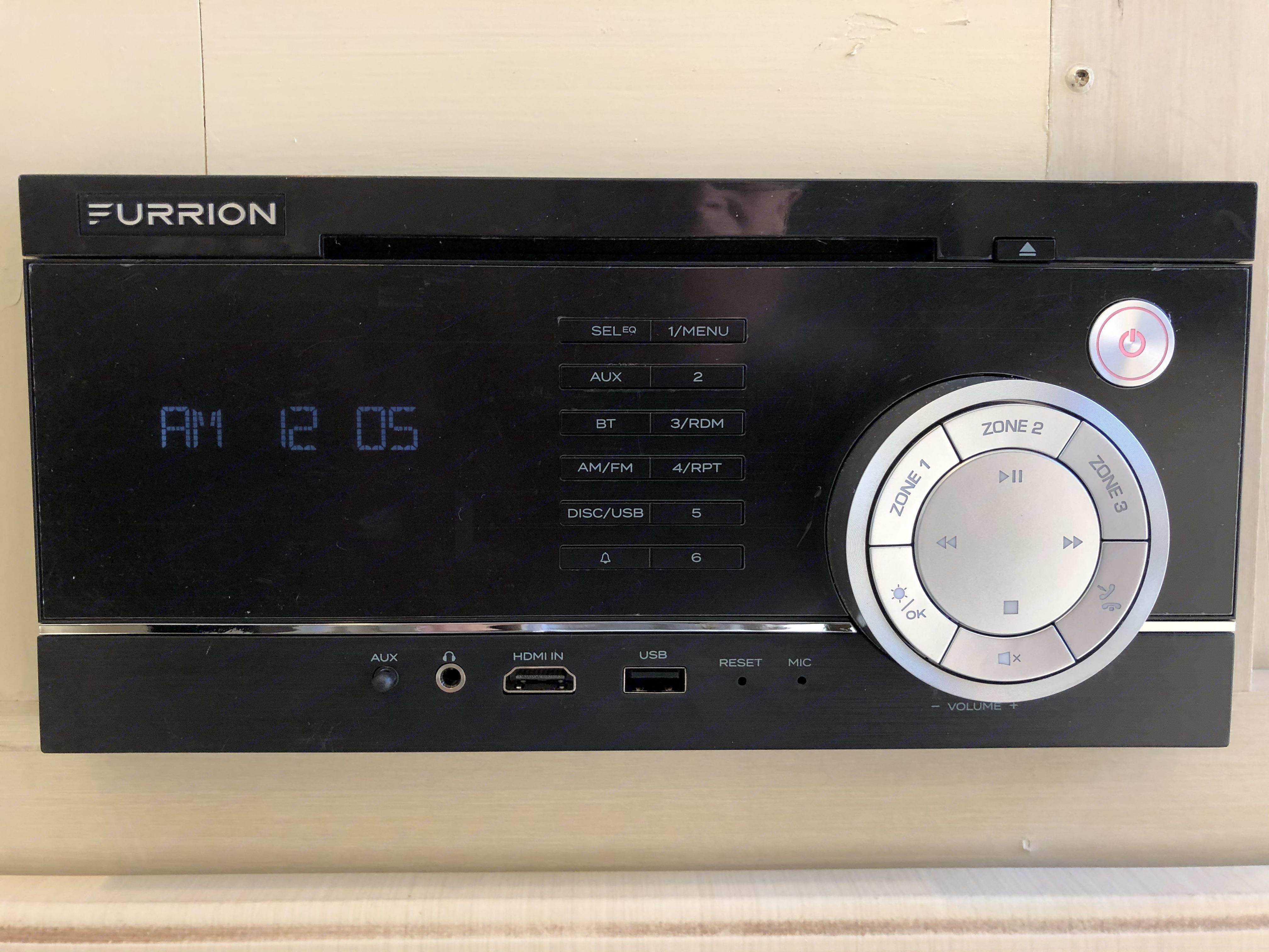 New radio - 3 zone 200 watt Furrion system and all new speakers. Bluetooth ready.. Winnebago Minnie 2017