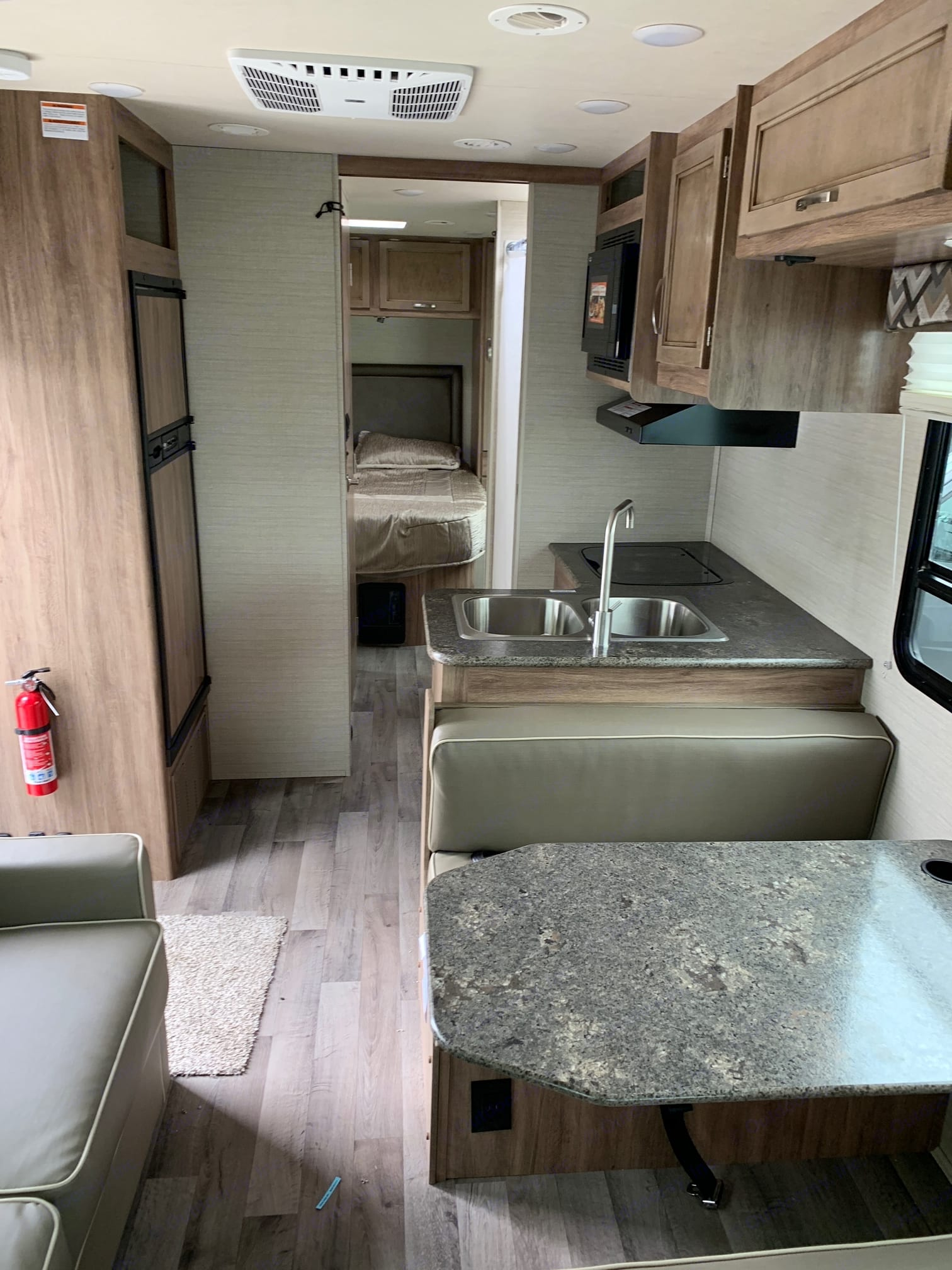 View from Cockpit. Jayco Redhawk 2019