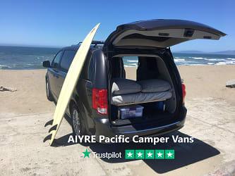 Surfing Safari Ready. Dodge Grand Caravan 2019